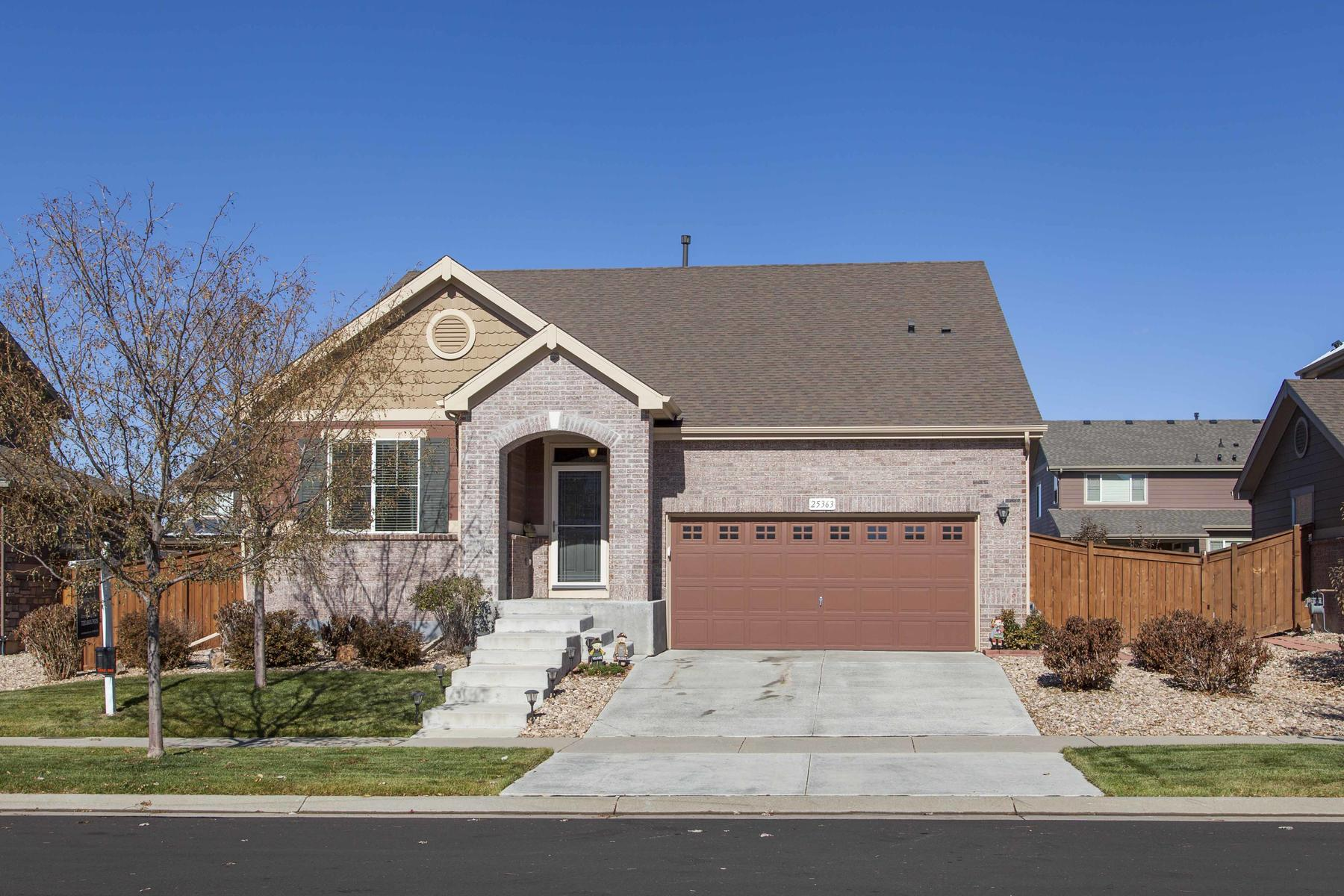 Single Family Home for Active at Immaculately Well-Maintained Home In Traditions Neighborhood 25363 E 2nd Ave Aurora, Colorado 80018 United States