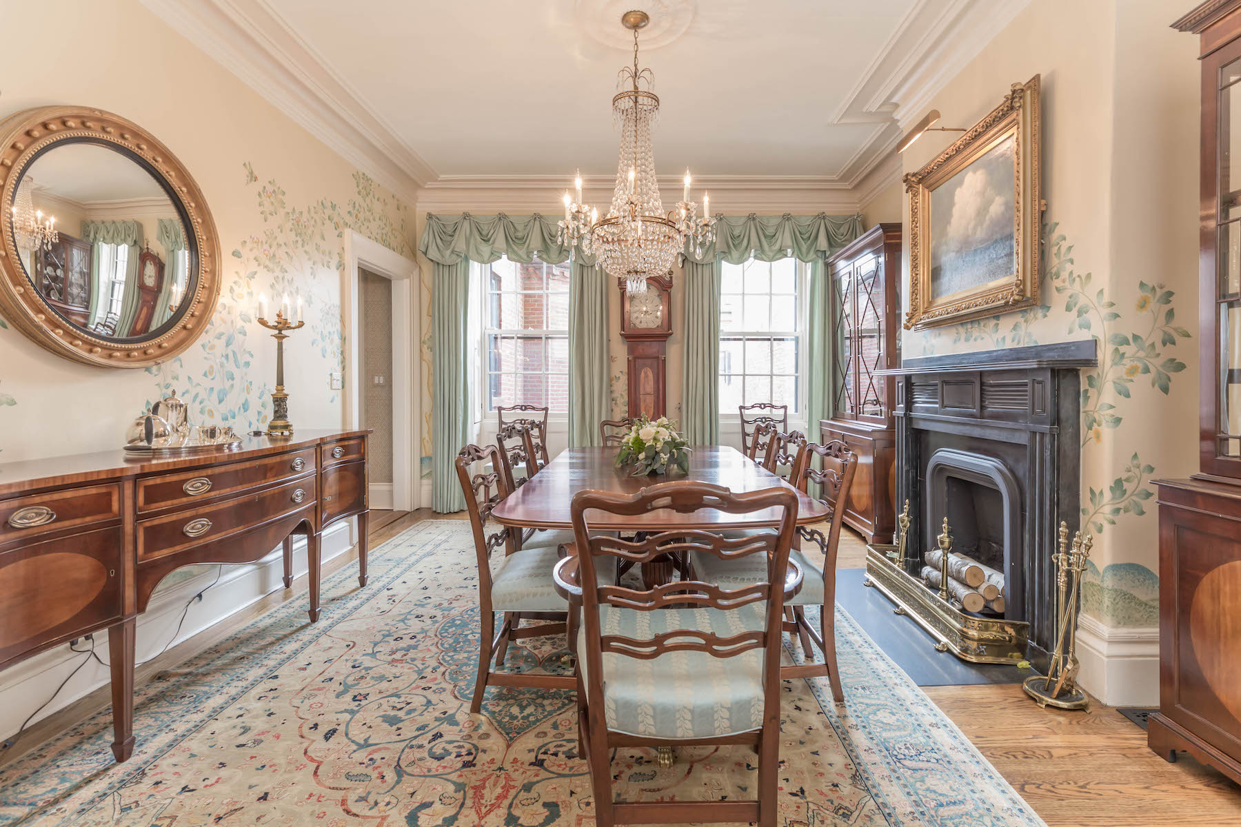Single Family Home for Active at Refined Brick Townhouse On Beacon Hill 20 West Cedar Street Boston, Massachusetts 02108 United States