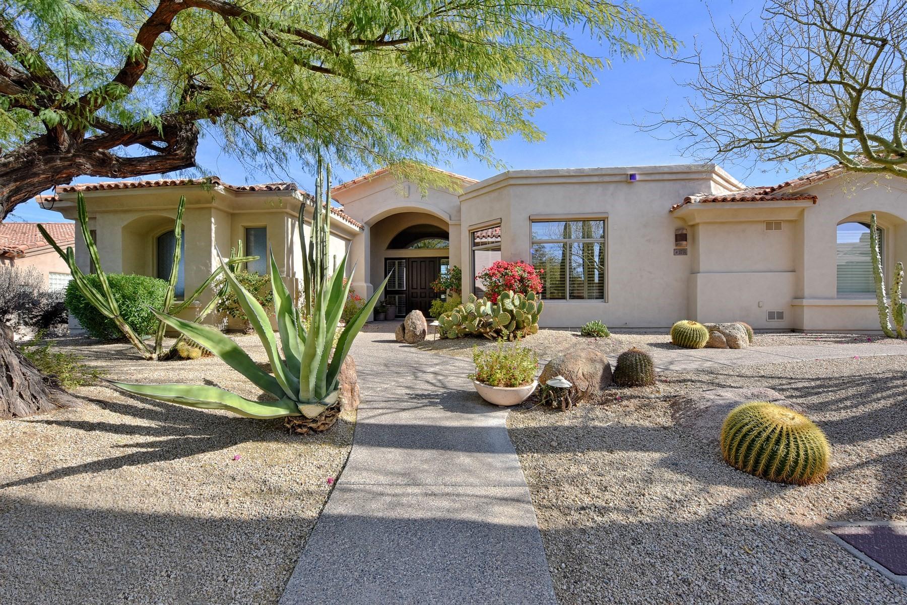 Vivienda unifamiliar por un Venta en Beautiful home in Monument at Troon North 9734 E Peak View Rd, Scottsdale, Arizona, 85262 Estados Unidos