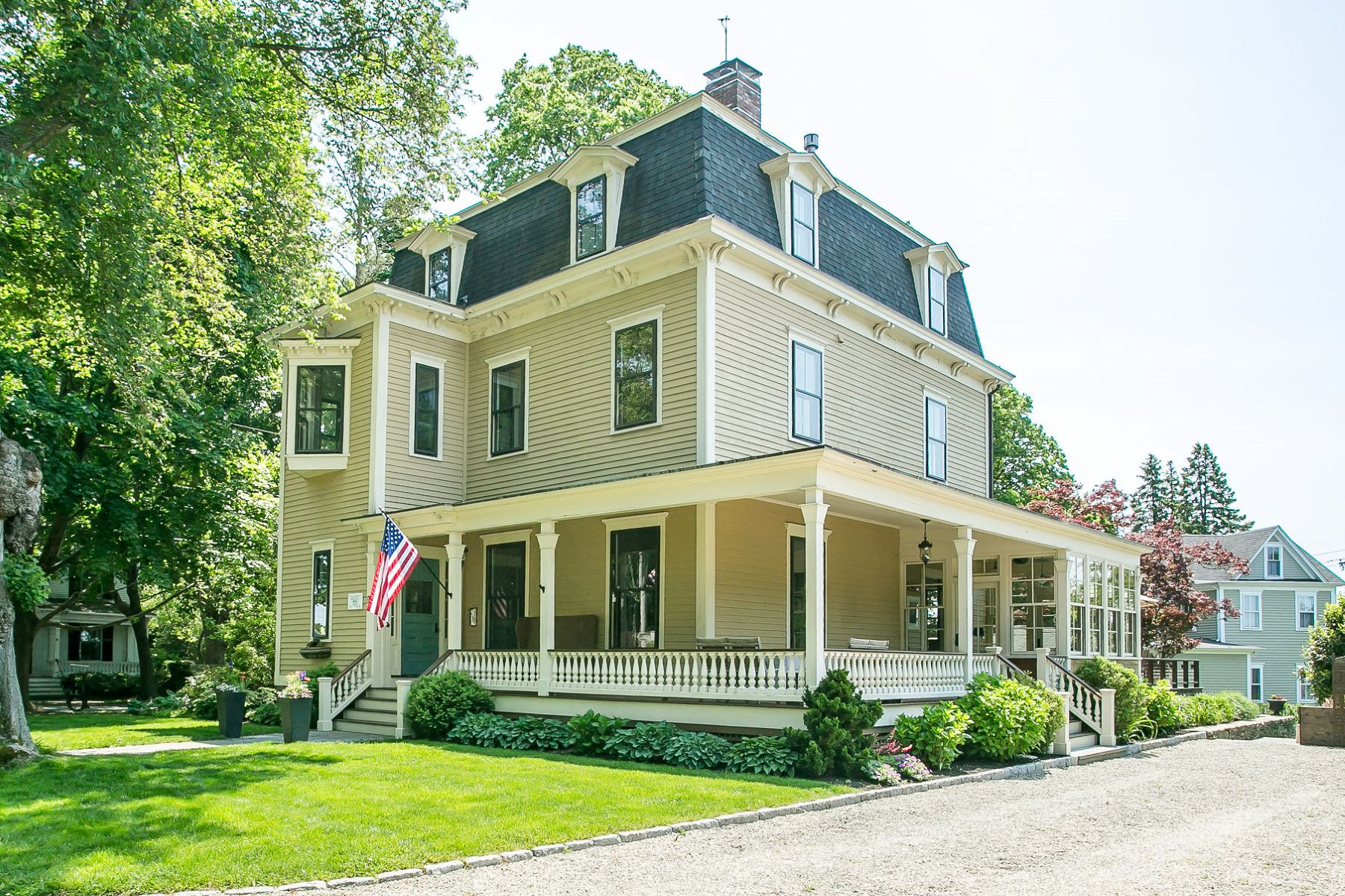 Single Family Homes للـ Sale في Charles DeWolf Brownell House 30 Walley Street, Bristol, Rhode Island 02809 United States