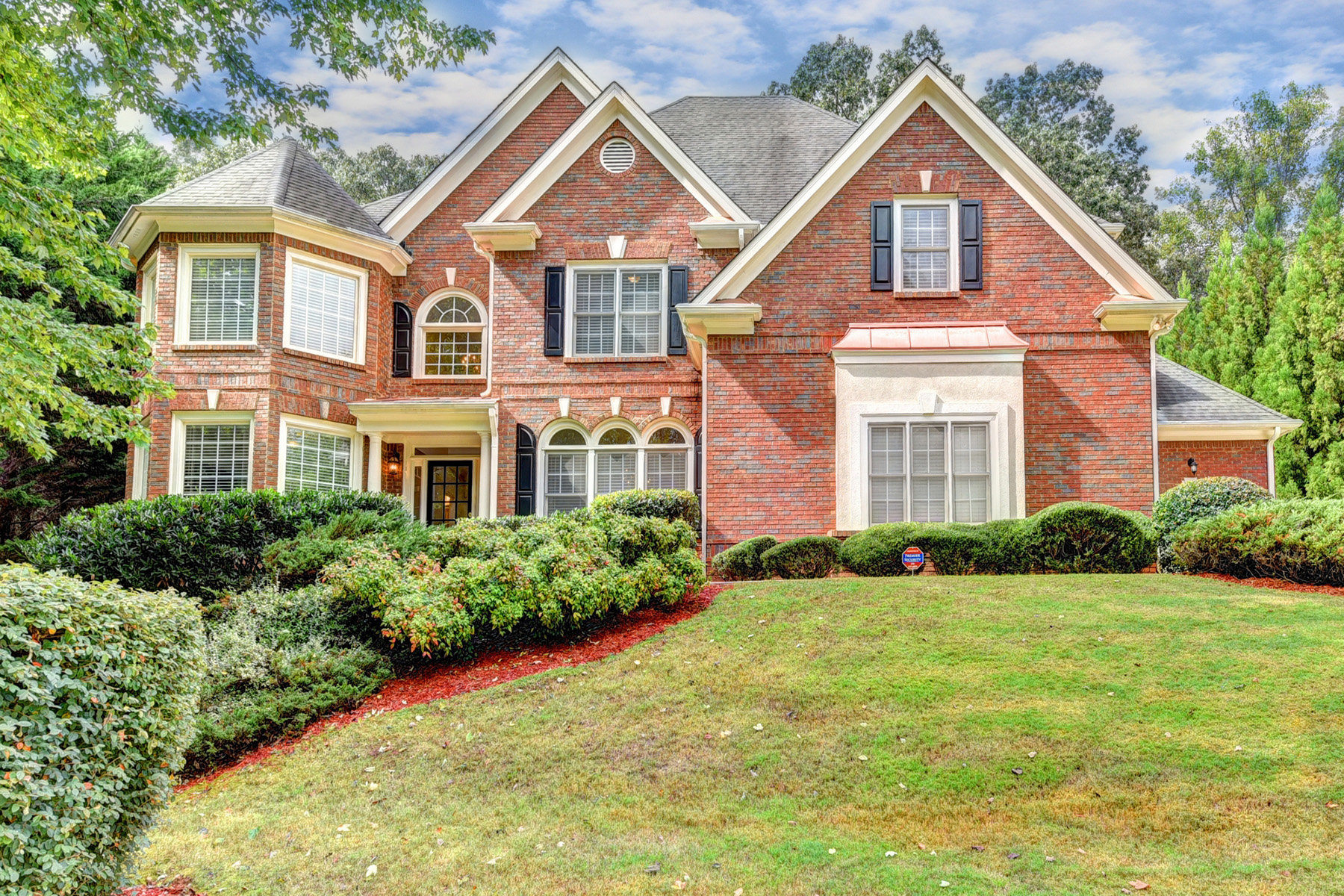 Single Family Home for Sale at Desirable Milton Home In Crooked Creek A Gated Golf Community On Fabulous Lot 230 Bunker Court Milton, Georgia 30004 United States