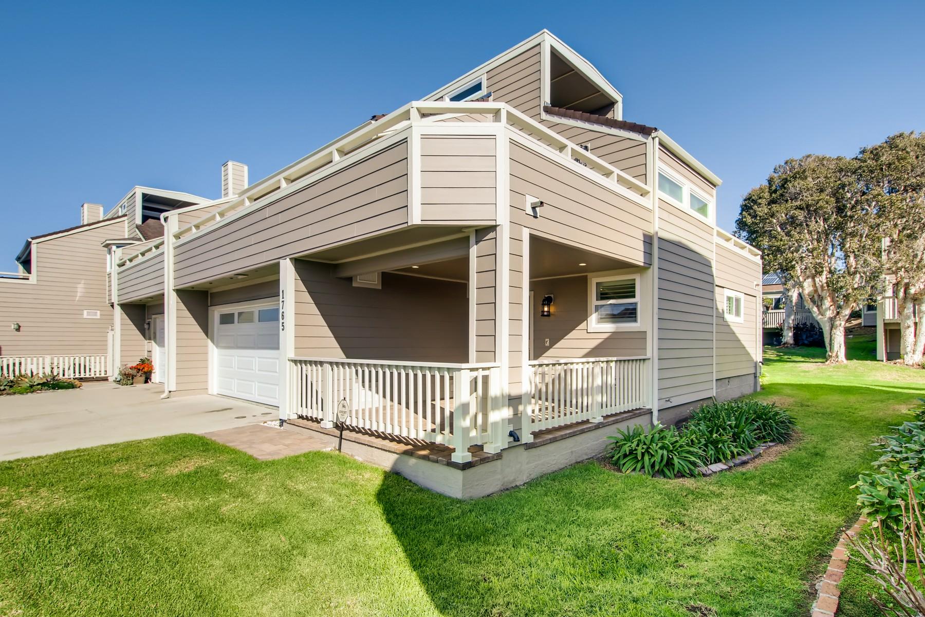 townhouses por un Venta en Ocean View Paradise 1765 Tattenham Rd. Encinitas, California 92024 Estados Unidos