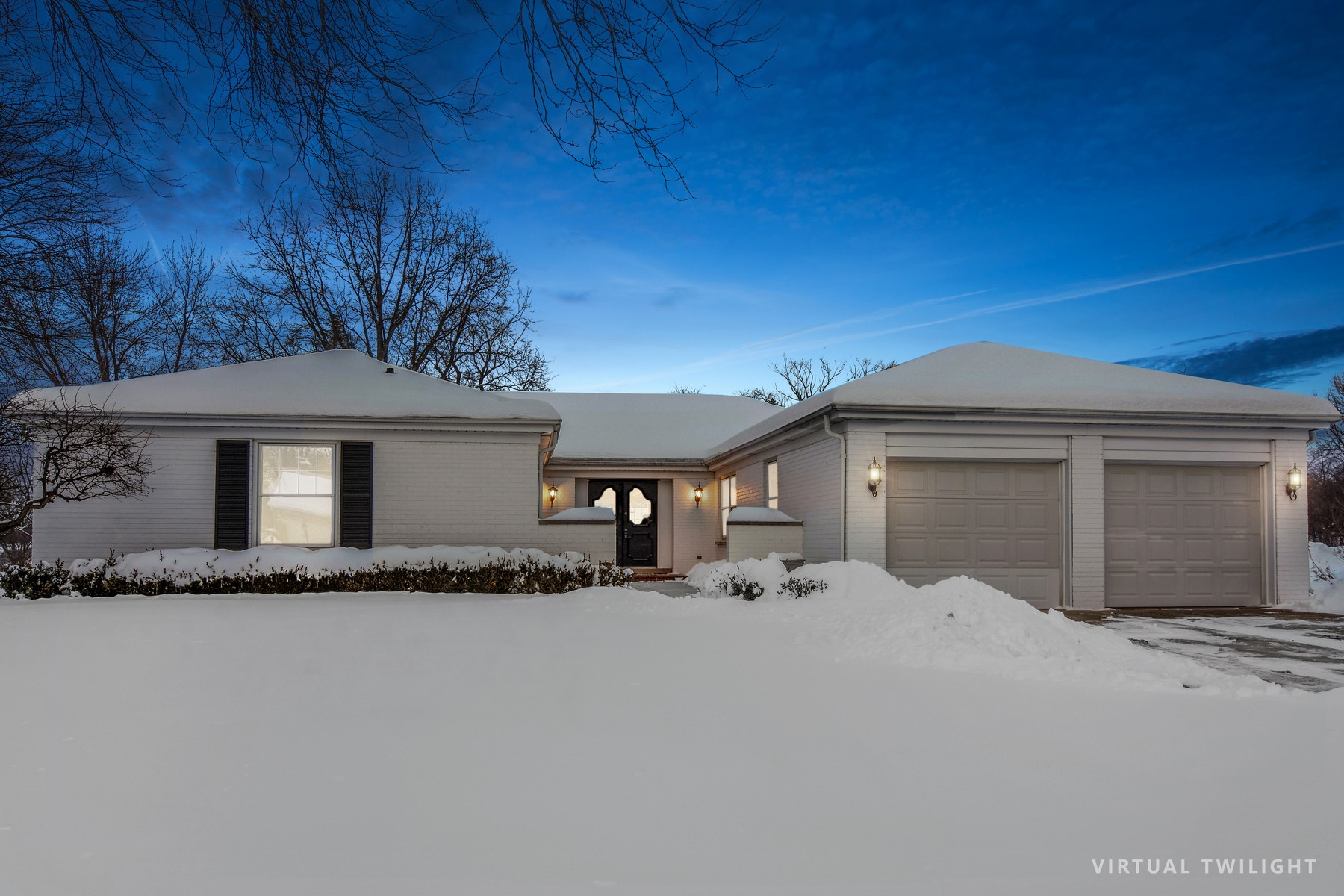 Single Family Home for Sale at Fabulous move in beautifully remodeled open ranch 1230 Burr Oak Lane, Barrington, Illinois, 60010 United States