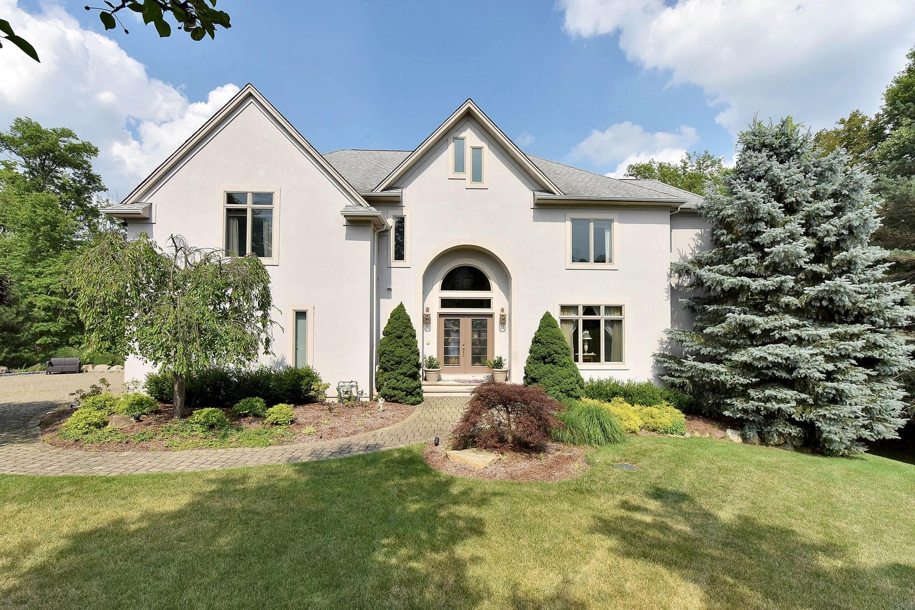 Maison unifamiliale pour l Vente à Masonry Exterior 27 Copperfield Way Mahwah, New Jersey 07430 États-Unis