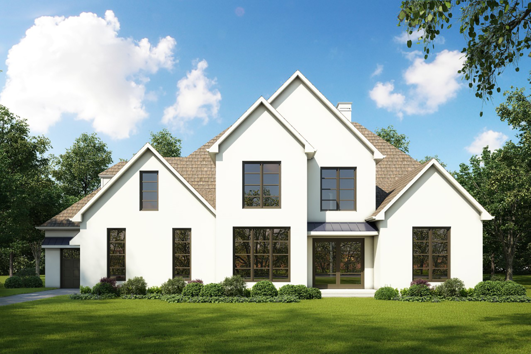 Single Family Homes for Sale at Modern Estate To Be Built in Downtown Alpharetta Garden District 12480 Hopewell Road Alpharetta, Georgia 30009 United States