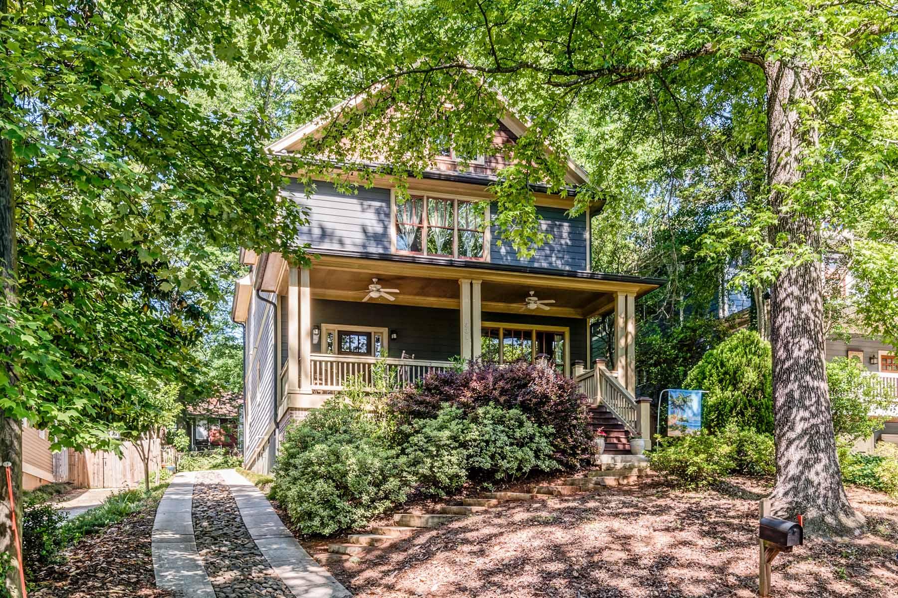 Maison unifamiliale pour l Vente à Great Home-Great Street! 331 Madison Ave. Decatur, Georgia, 30030 États-Unis