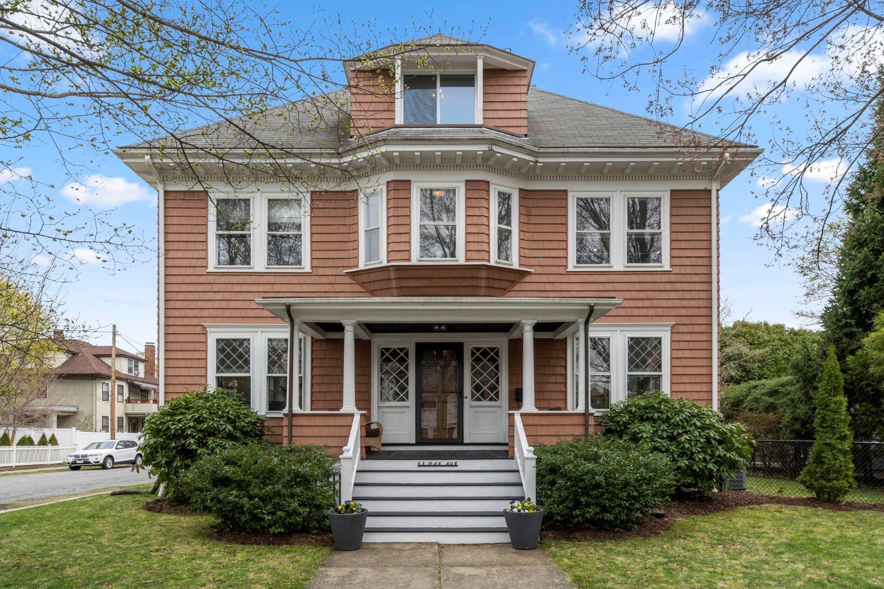 Single Family Homes για την Πώληση στο 53 Oak Avenue Belmont, Μασαχουσετη 02478 Ηνωμένες Πολιτείες