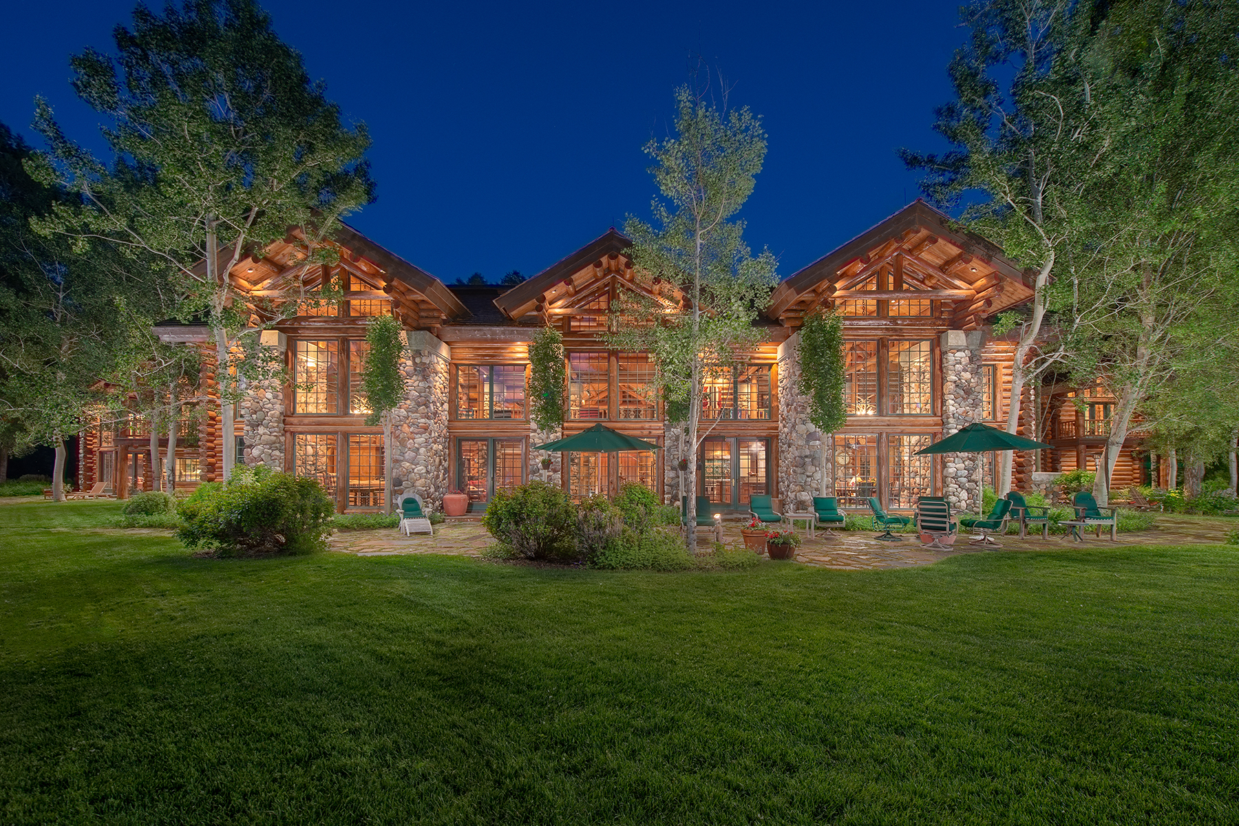 Single Family Homes for Sale at 70 Acre Estate on the Snake River 1100 Woodside Drive Jackson, Wyoming 83001 United States