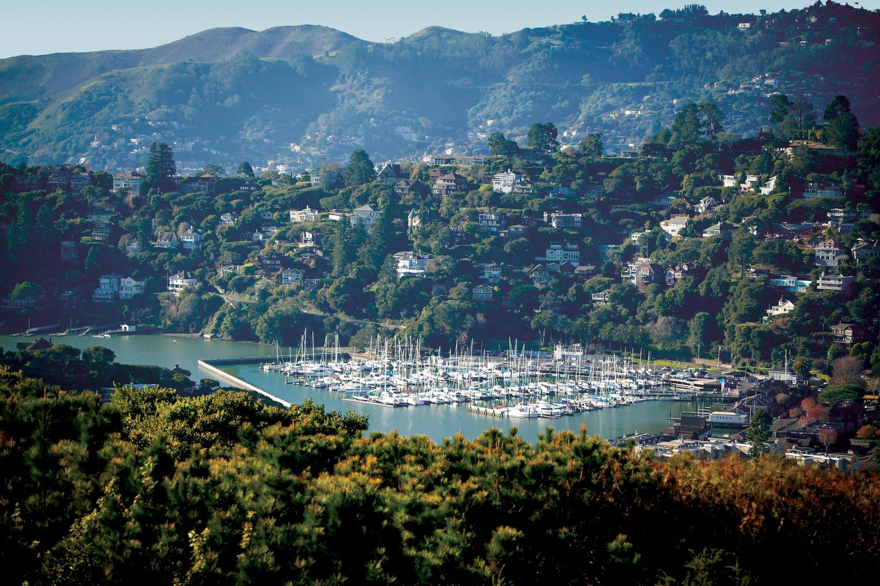 Single Family Home for Sale at Portofino in Tiburon! 1830 Mountain View Dr Tiburon, California, 94920 United States