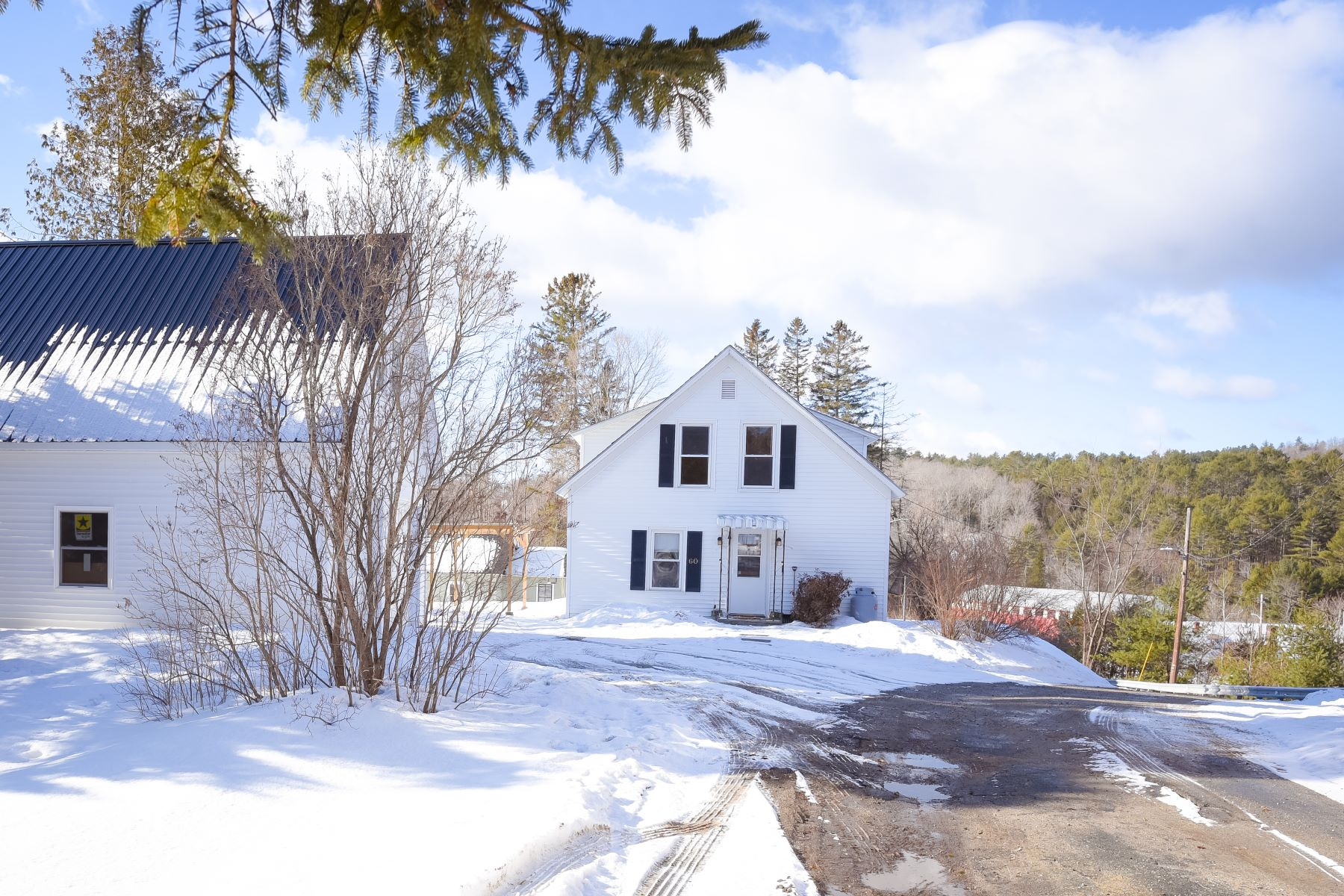 Single Family Homes for Sale at Three Bedroom Farmhouse in Ryegate 60 Cowie Hill Road Ryegate, Vermont 05069 United States