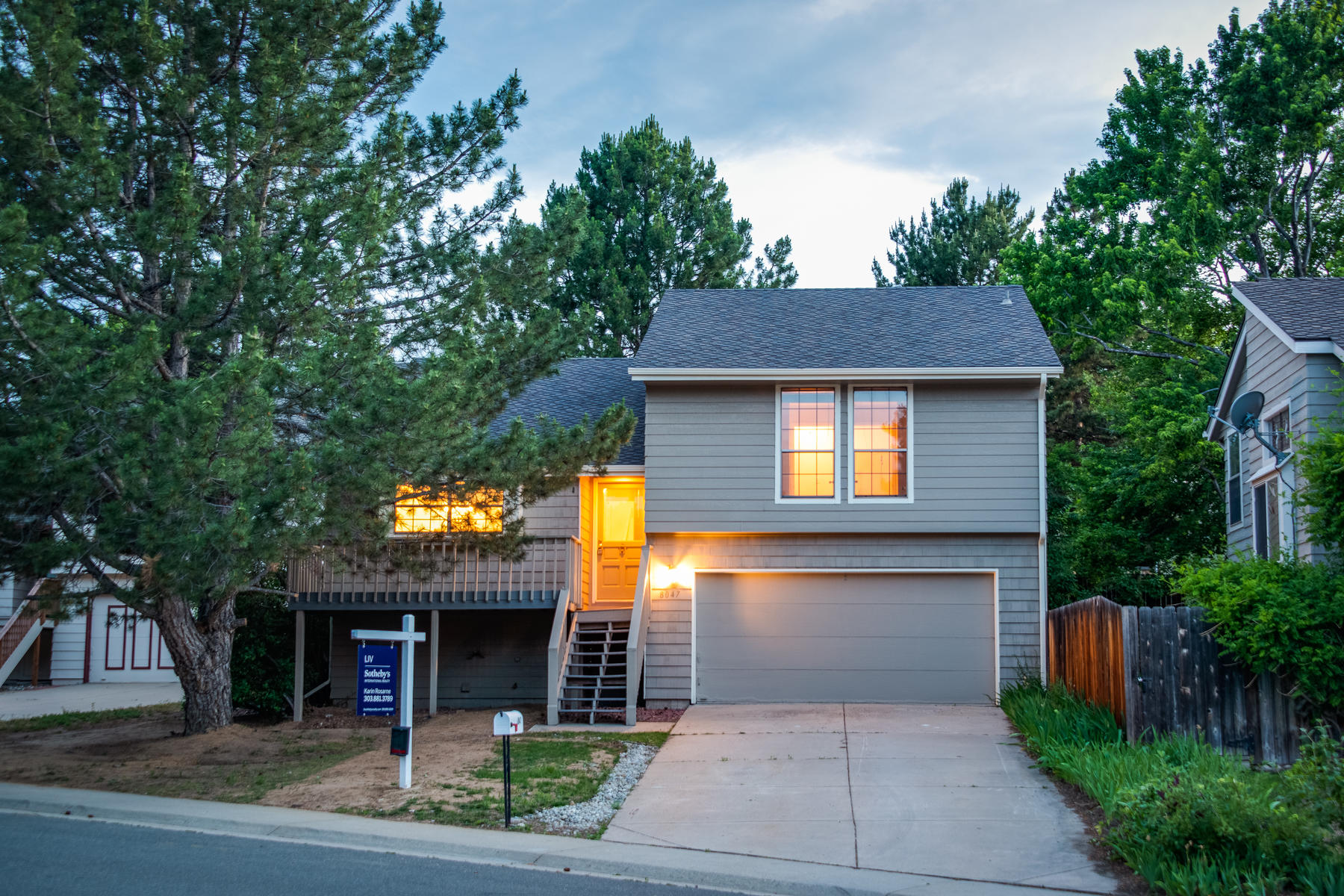 Single Family Homes for Sale at Freshly Remodeled four Bedroom 8047 S Newport Centennial, Colorado 80112 United States