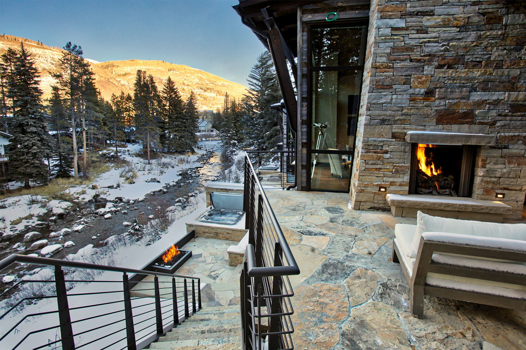 Duplex for Sale at A Modern Masterpiece with Rustic Mountain Overtones 223 Beaver Dam Rd, Vail Village, Vail, Colorado, 81657 United States