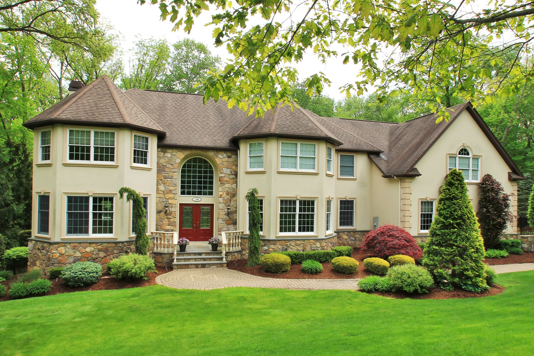 واحد منزل الأسرة للـ Sale في La Bella Vita 108 Oak Haven Lane, Franklin Lakes, New Jersey, 07417 United States