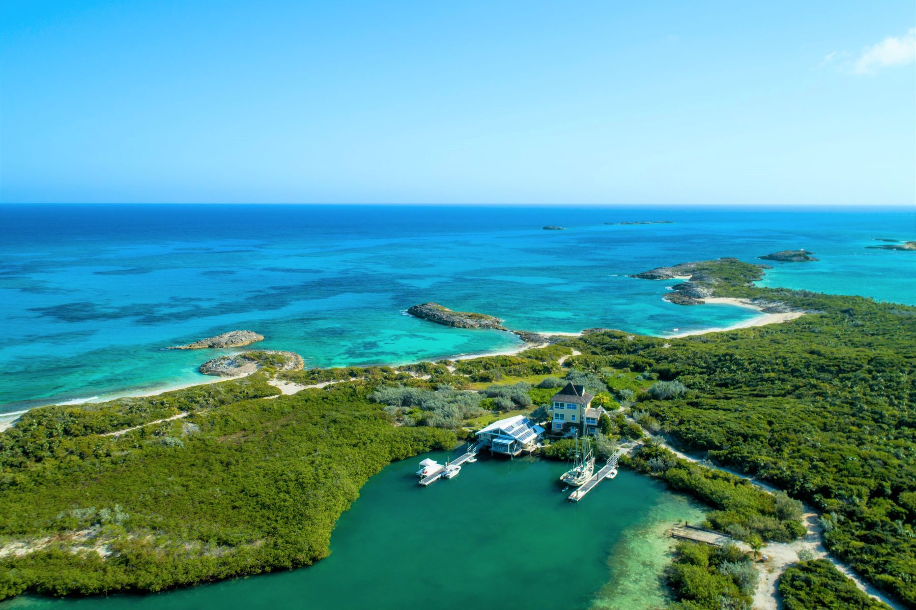 Private Islands pour l Vente à Top of the World Georgetown, Exuma Bahamas