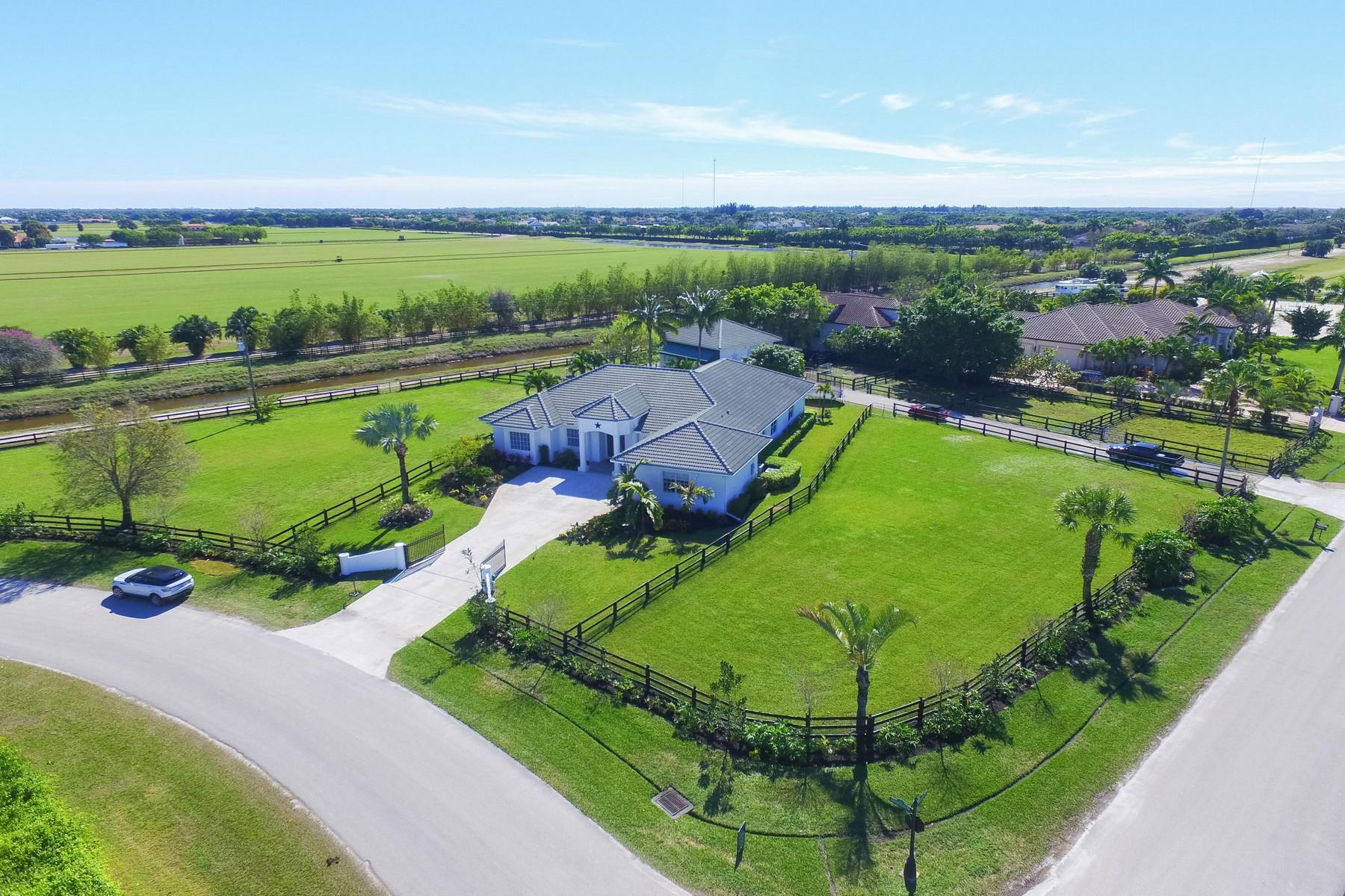 Частный односемейный дом для того Продажа на 13200 Southfields Road Wellington, Флорида, 33414 Соединенные Штаты