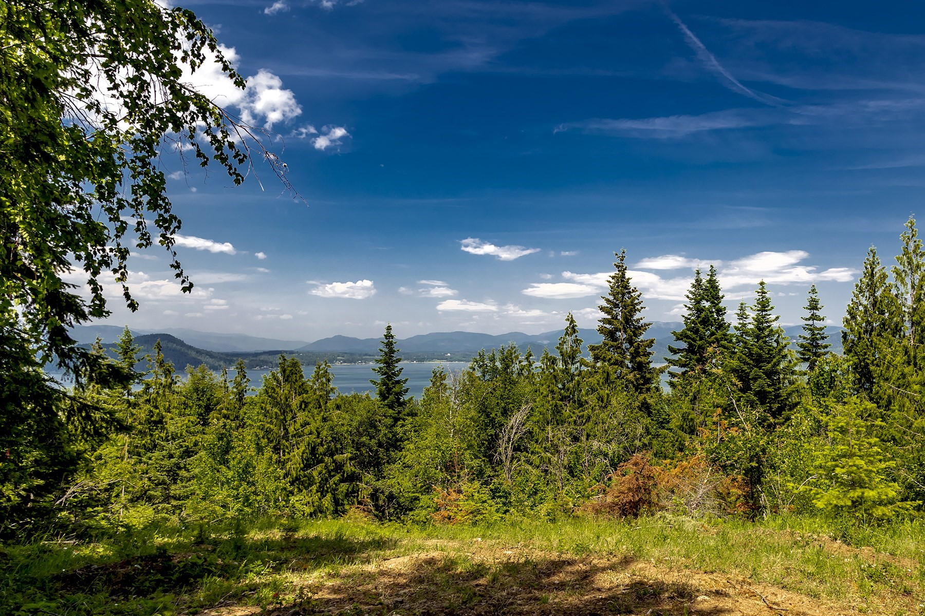 Land for Sale at 5 Acre Bottle Bay View Property NNA Moonbeam Road Sagle, Idaho 83860 United States