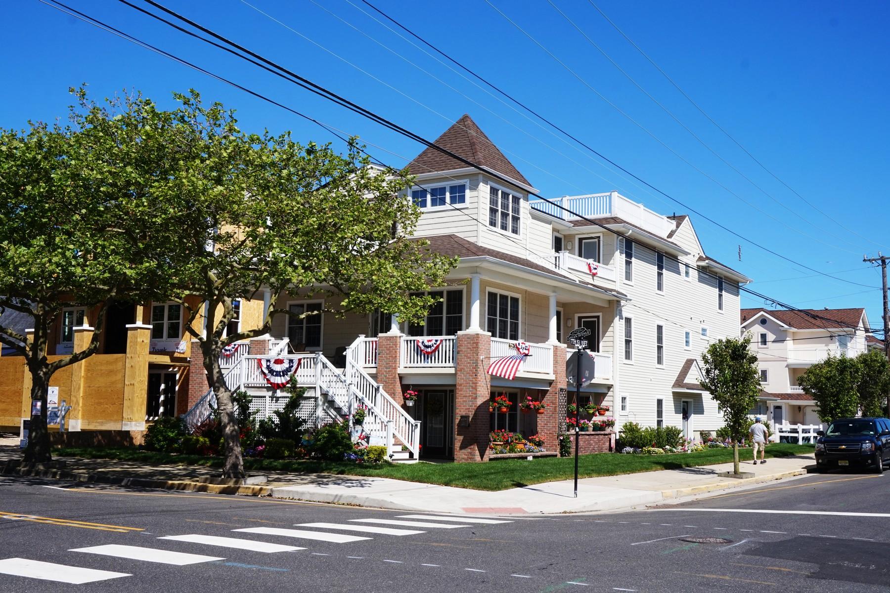 Condominium for Sale at Second Floor Corner Condo 643 Ocean Avenue 2nd Floor Ocean City, New Jersey, 08226 United States