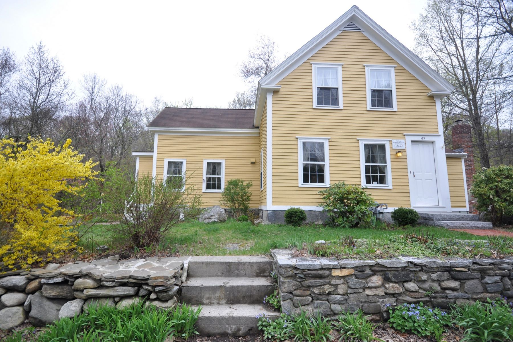Single Family Home for Sale at Historic Antique in South Acton Historic District - Walk to Rail! 65 River Street Acton, Massachusetts, 01720 United States
