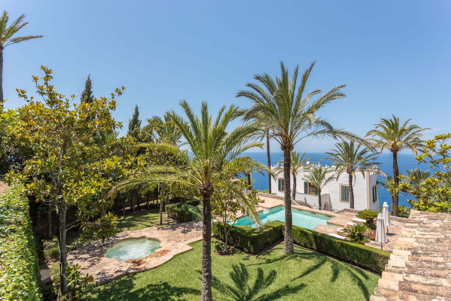 Single Family Home for Sale at Spectacular Mansion in Puerto Valldemossa Valldemossa, Balearic Islands Spain