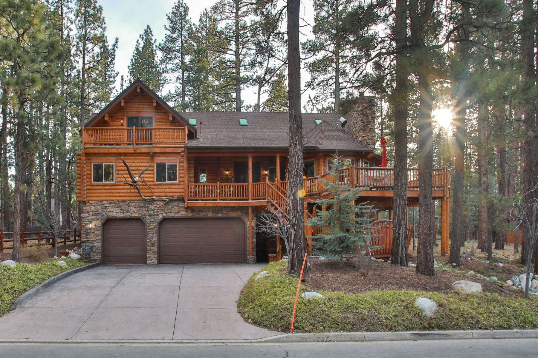Single Family Homes for Sale at 41469 Stone Bridge Road Big Bear Lake, CA 92315 41469 Stone Bridge Road Big Bear Lake, California 92315 United States