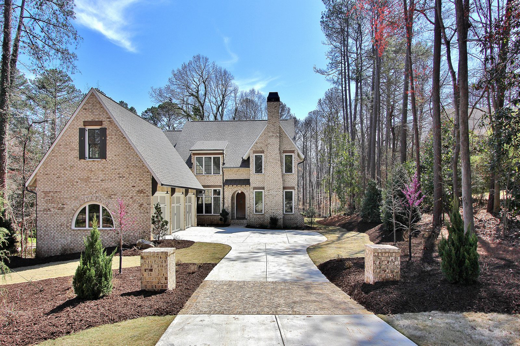 Single Family Home for Sale at Private Retreat Nestled In The Heart Of Dunwoody 8345 Hewlett Road, Sandy Springs, Georgia, 30350 United States