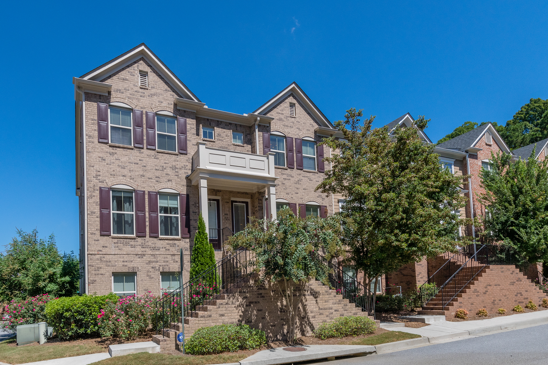 Townhouse for Sale at Beautiful Move-in Ready Three Story Townhome 2631 Portbury Place NE Atlanta, Georgia 30329 United States
