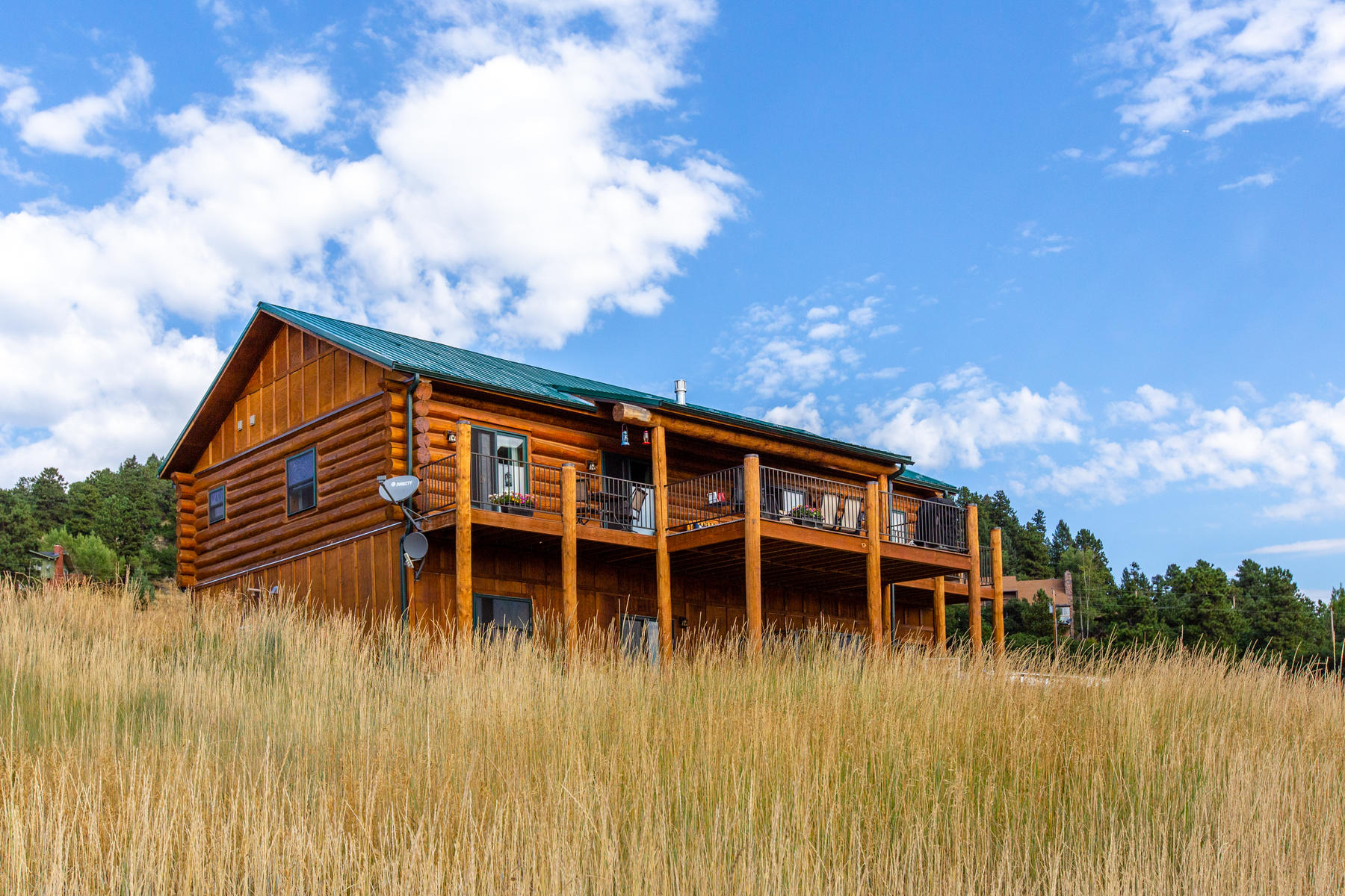 Single Family Homes for Active at You will love this beautiful custom built log home 6832 Peaceful Hills Rd Morrison, Colorado 80465 United States