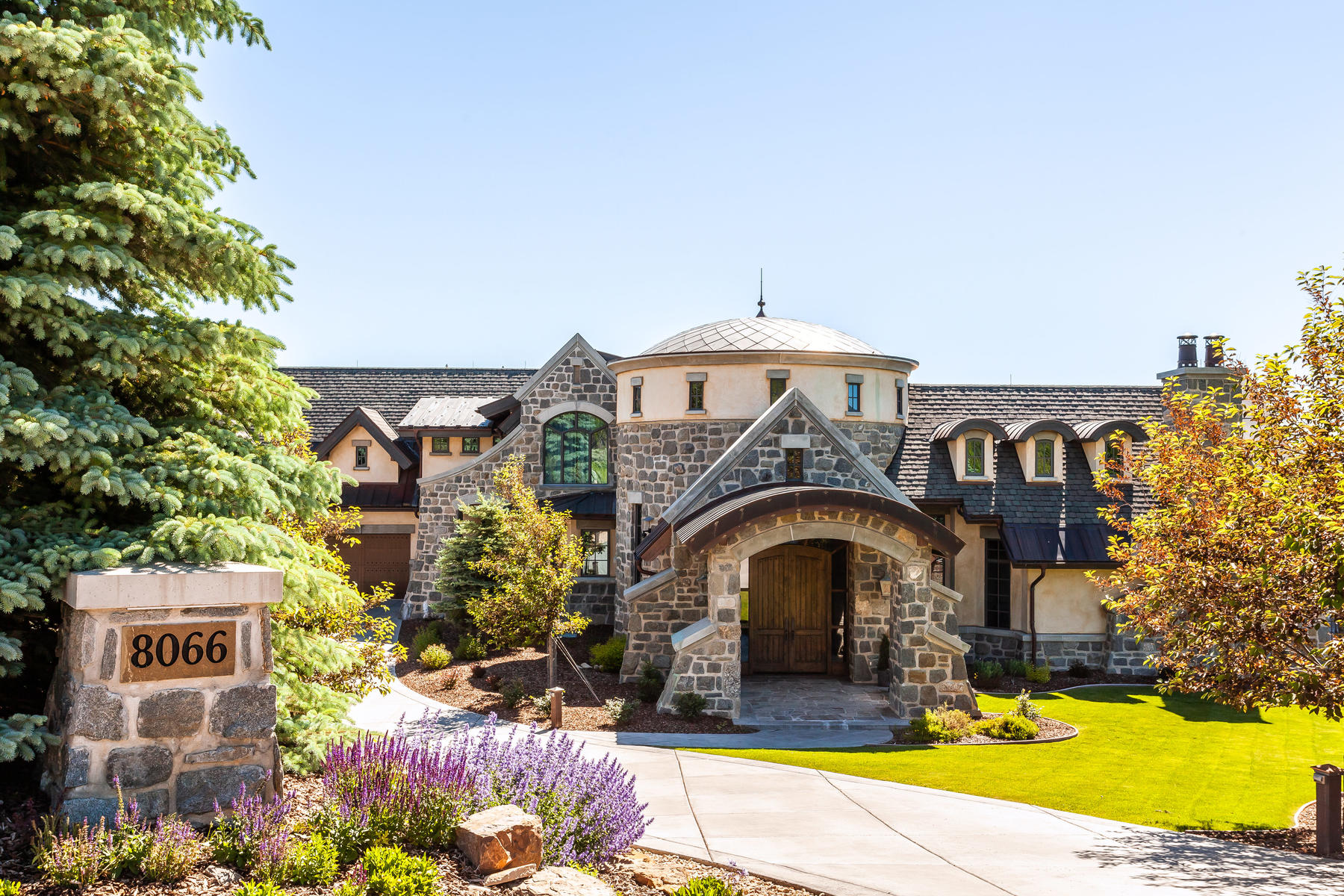 Single Family Homes for Active at A Michael Upwall Old World Legacy Masterpiece 8066 N Red Fox Ct Park City, Utah 84098 United States