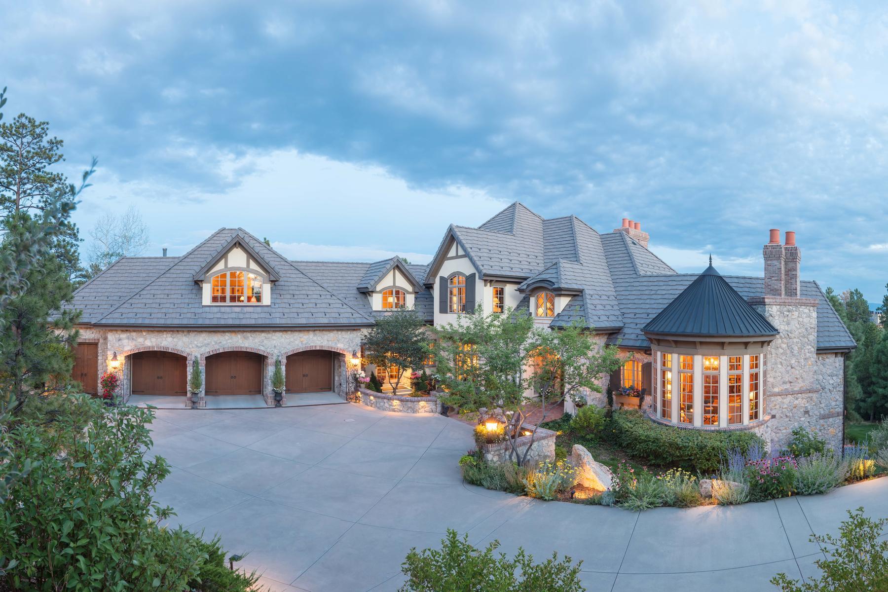 Casa Unifamiliar por un Venta en 4 Eagle Pointe Lane 4 Eagle Pointe Lane Castle Rock, Colorado 80108 Estados Unidos