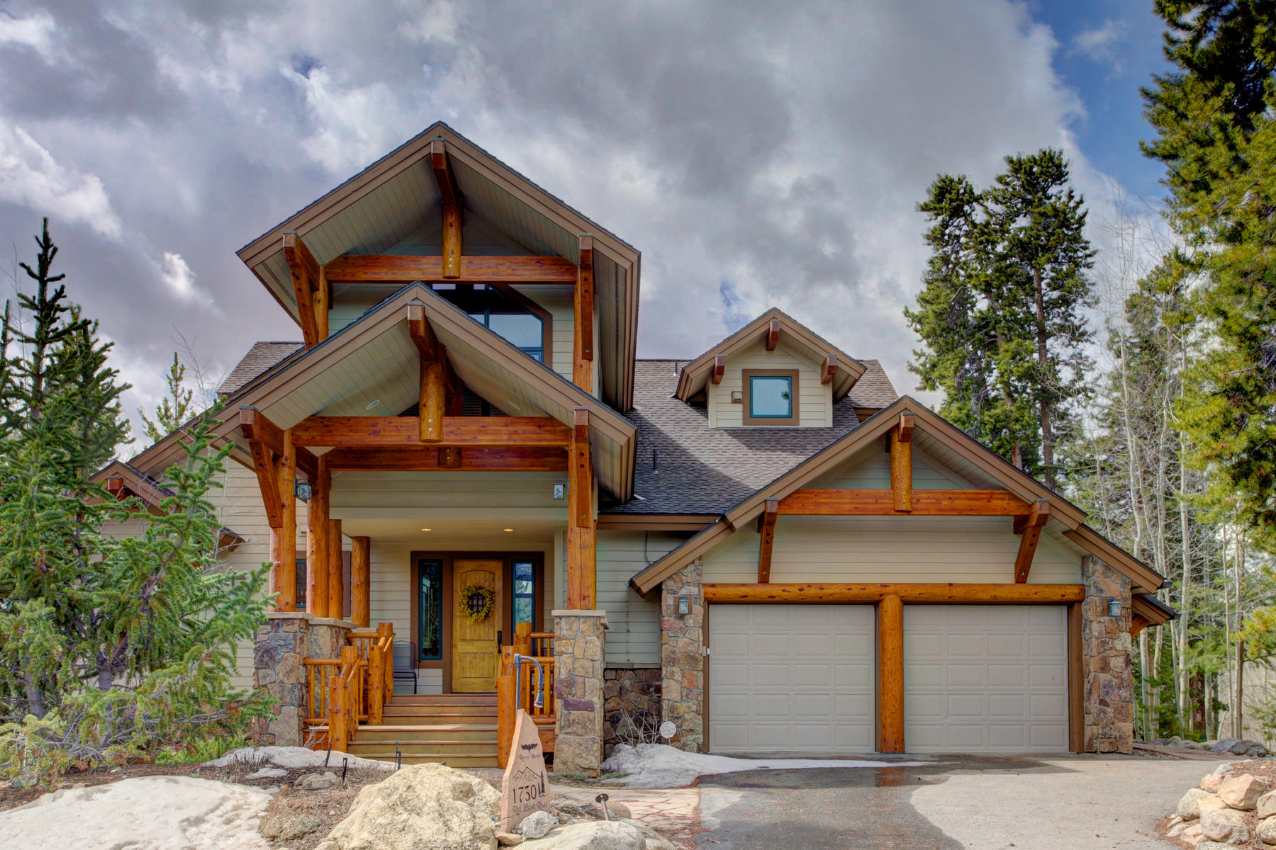 Single Family Home for Active at 1/4 Share Property in Eagles Nest 1730 Red Hawk Road Silverthorne, Colorado 80498 United States
