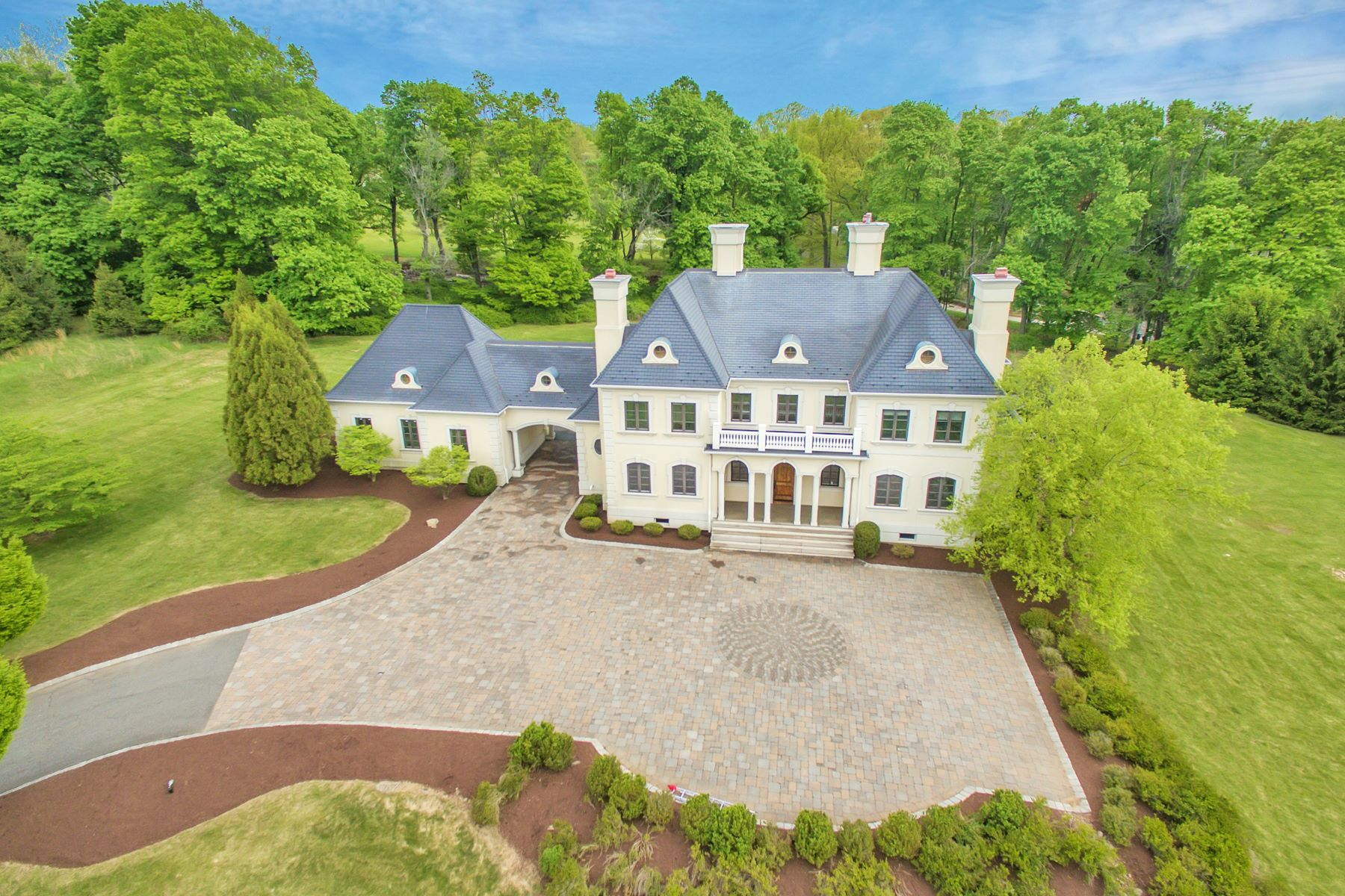 Single Family Home for Sale at Palatial Residence 1 Crownview Lane Bernardsville, New Jersey, 07924 United States