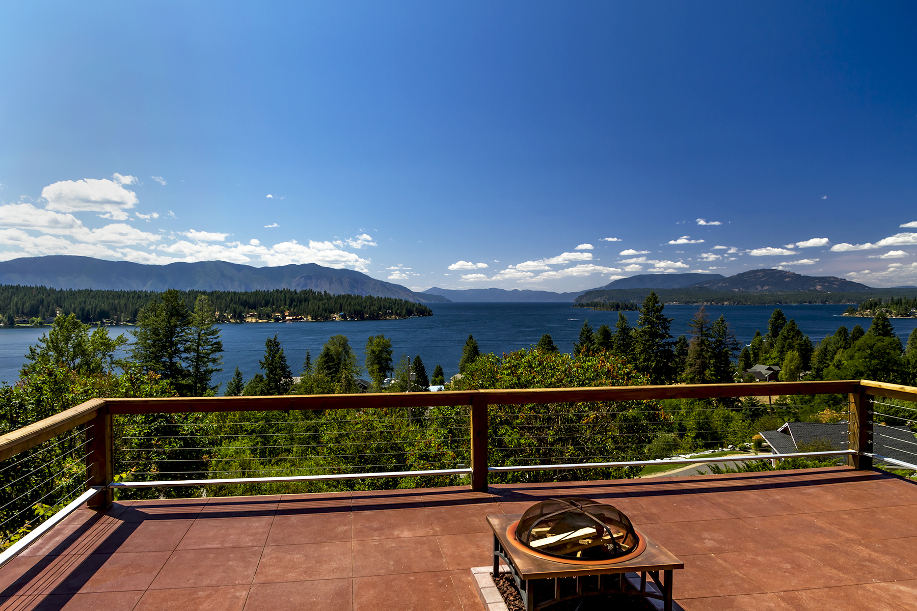 Single Family Homes for Sale at Lake Pend Oreille View Home 523 Hope Hope, Idaho 83836 United States