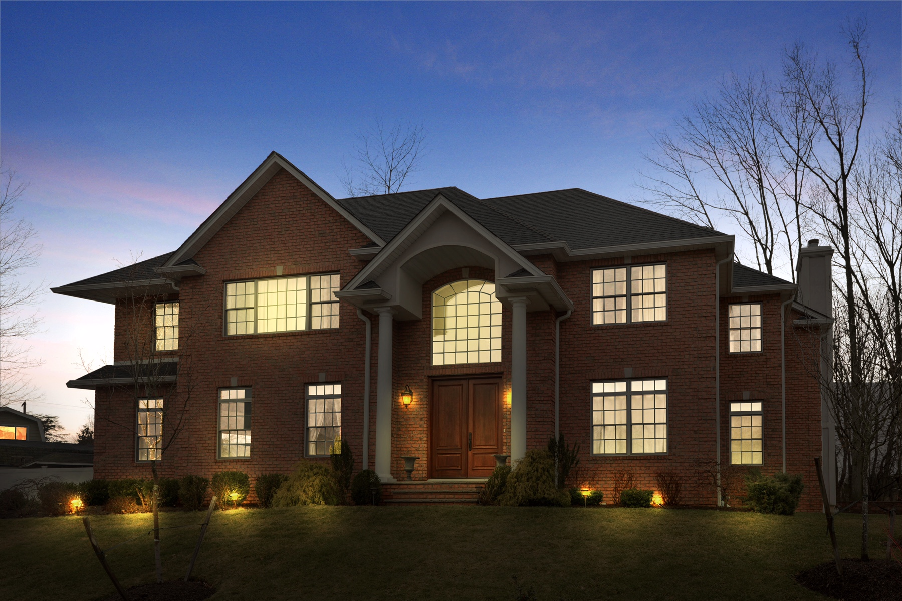 Single Family Home for Sale at Custom Colonial located on a private Cul-De-Sac. 7 Adela Court Whippany, 07981 United States