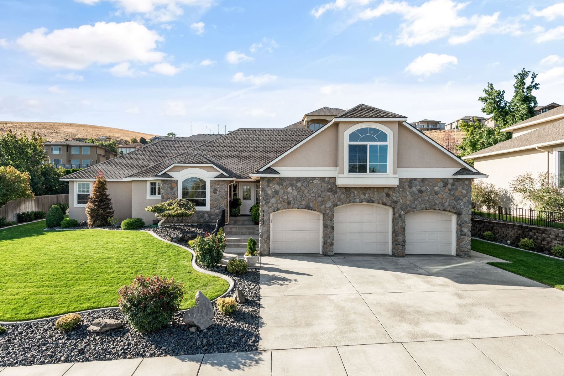 Single Family Homes for Sale at Custom Built 3507 W 42nd Avenue Kennewick, Washington 99337 United States