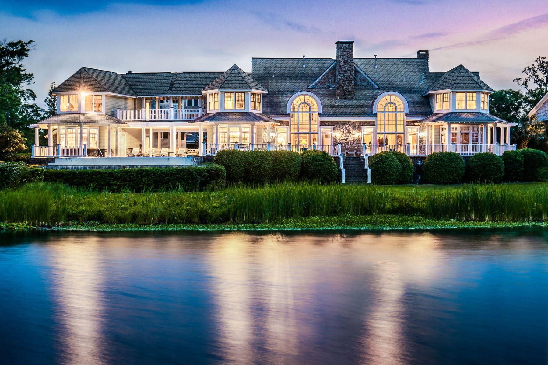 Single Family Homes vì Bán tại Extravagant Coastal Charm on Horseshoe Island 1110 Pembroke Jones Drive, Wilmington, Bắc Carolina 28405 Hoa Kỳ