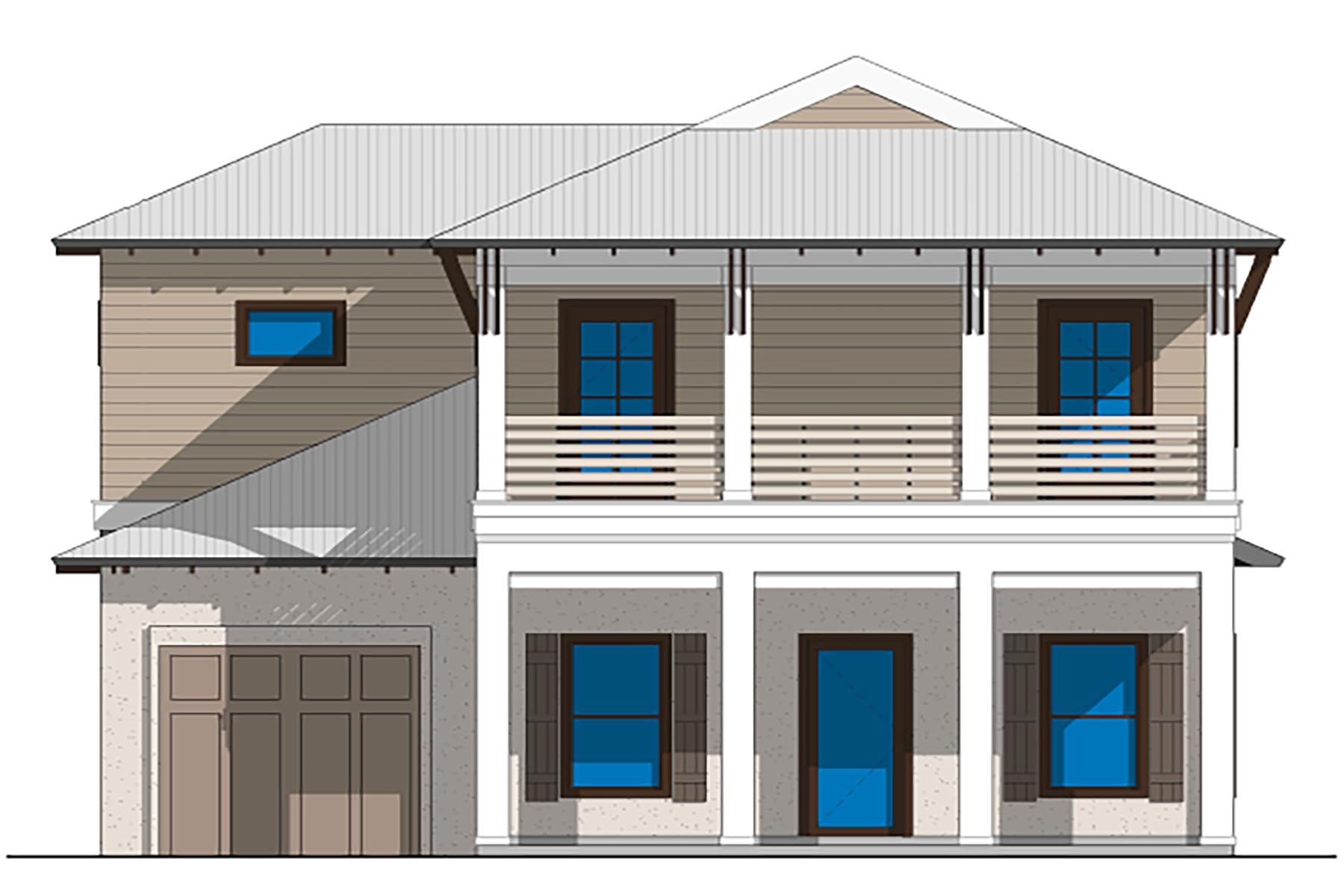 Частный односемейный дом для того Продажа на Brand New Construction In Exclusive Neighborhood Lot 32 W Willow Mist Road, Inlet Beach, Флорида, 32461 Соединенные Штаты