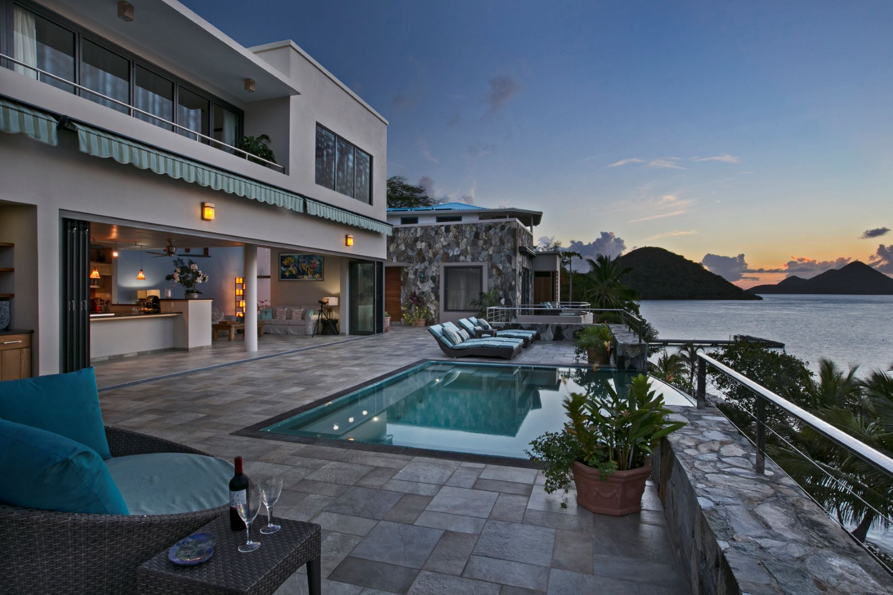 Single Family Home for Sale at Tower House & Frenchman's Chalet Frenchmans Cay, Frenchman's Cay British Virgin Islands