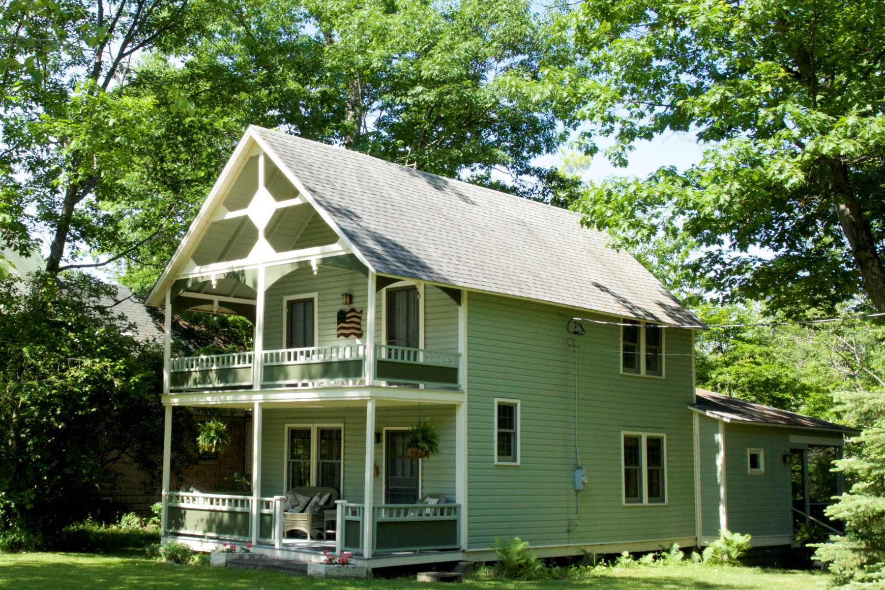 Single Family Homes for Sale at Historic Thousand Island Park 1573 Park Avenue Orleans, New York 13692 United States