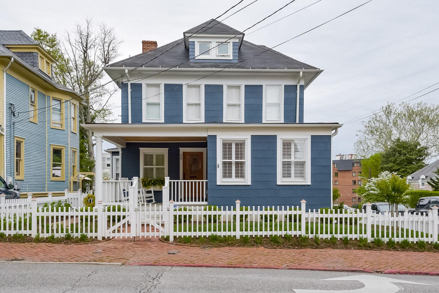 Einfamilienhaus für Verkauf beim 98 Duke Of Gloucester Street, Annapolis Annapolis, Maryland, 21401 Vereinigte Staaten
