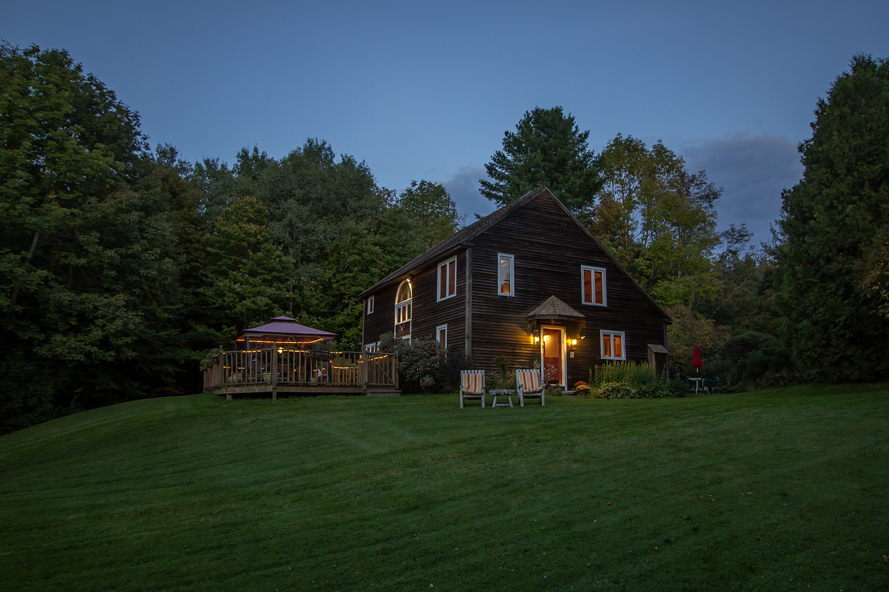 Single Family Home for Sale at Post and Beam with Mountain View 146 Minor Rd Wilmington, Vermont 05363 United States