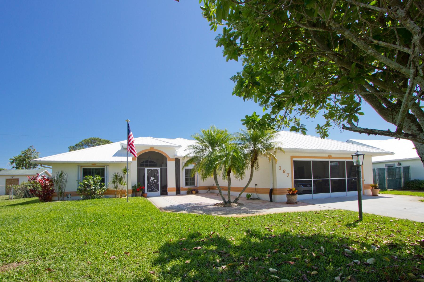 Μονοκατοικία για την Πώληση στο Tons of Upgrades Throughout this Split Floor Plan Home! 167 S Wimbrow Drive Sebastian, Φλοριντα 32958 Ηνωμένες Πολιτείες