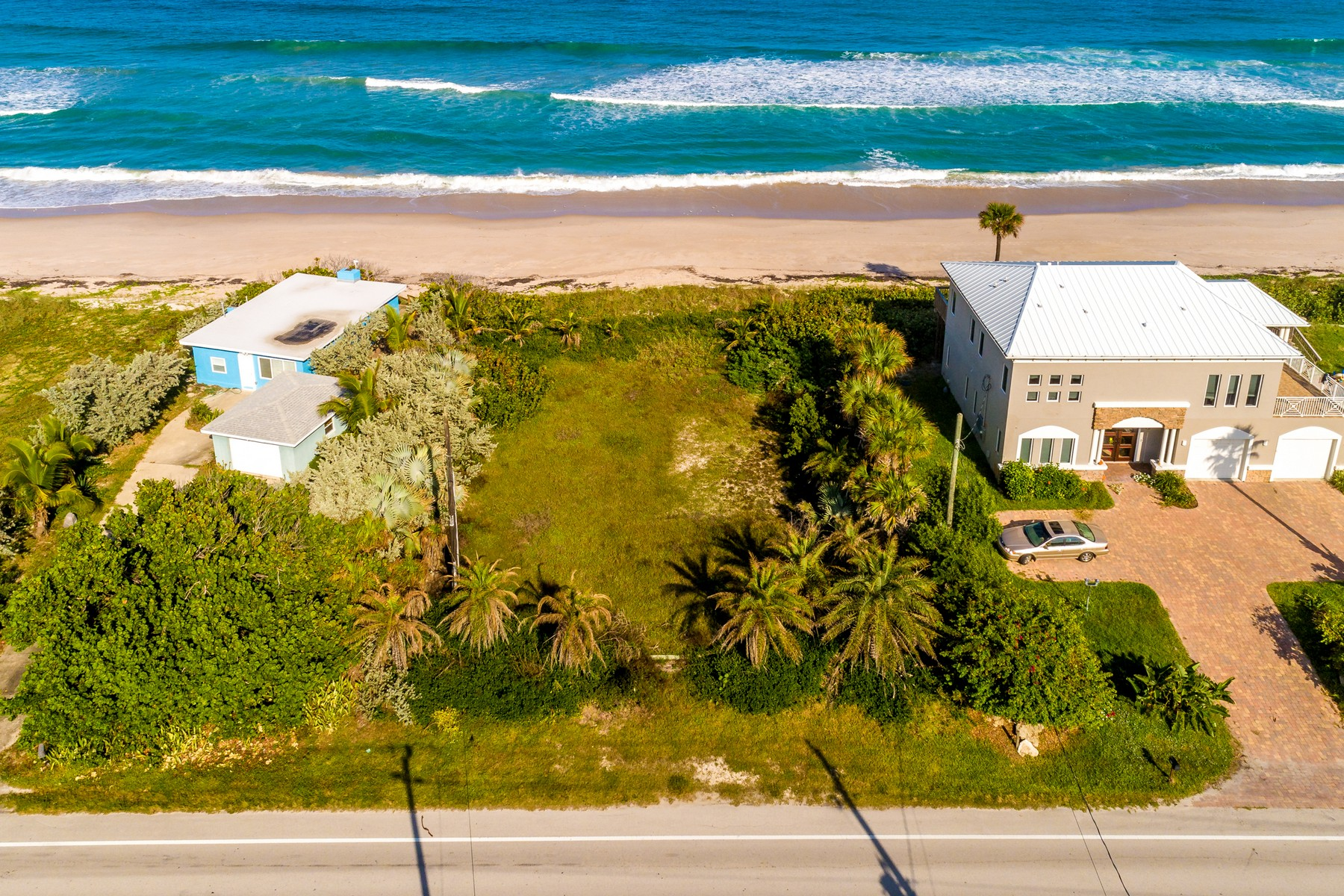 Land for Sale at Beautiful Oceanfront Lot in South Beaches 6945 Highway A1A Melbourne Beach, Florida 32951 United States