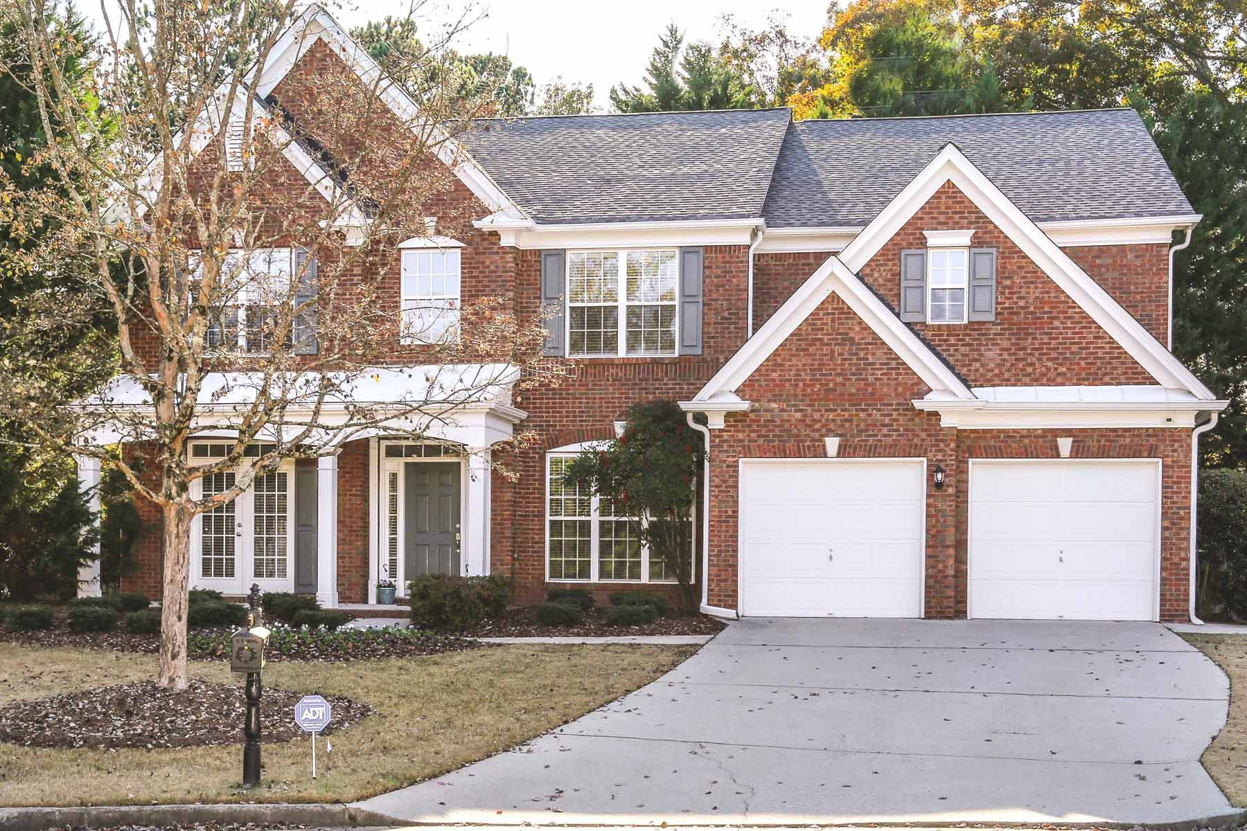 Single Family Homes for Sale at Three Sided Brick Traditional on Cul-de-sac Lot 2001 Belridge Dr, Smyrna, Georgia 30080 United States