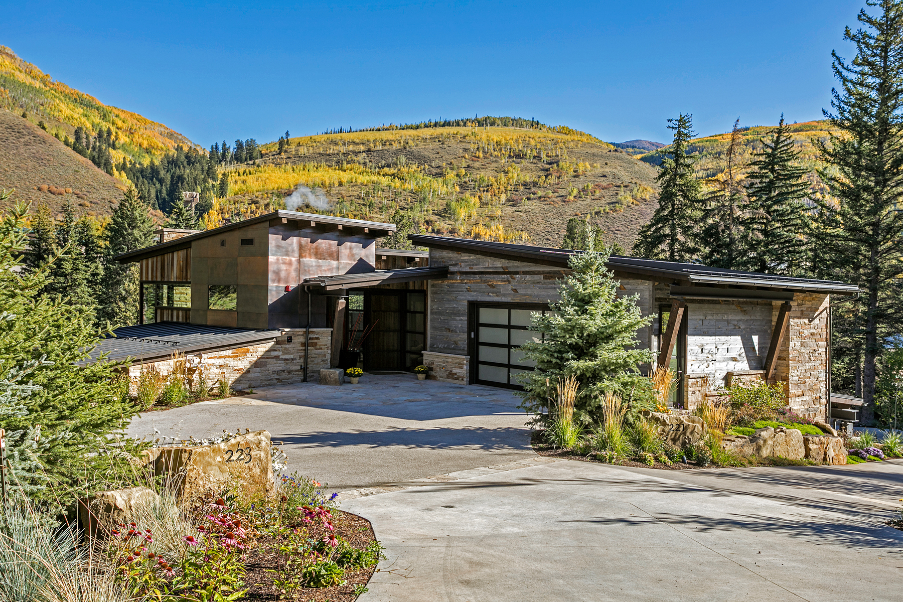 Duplex for Active at A Modern Masterpiece with Rustic Mountain Overtones 223 Beaver Dam Rd Vail, Colorado 81657 United States