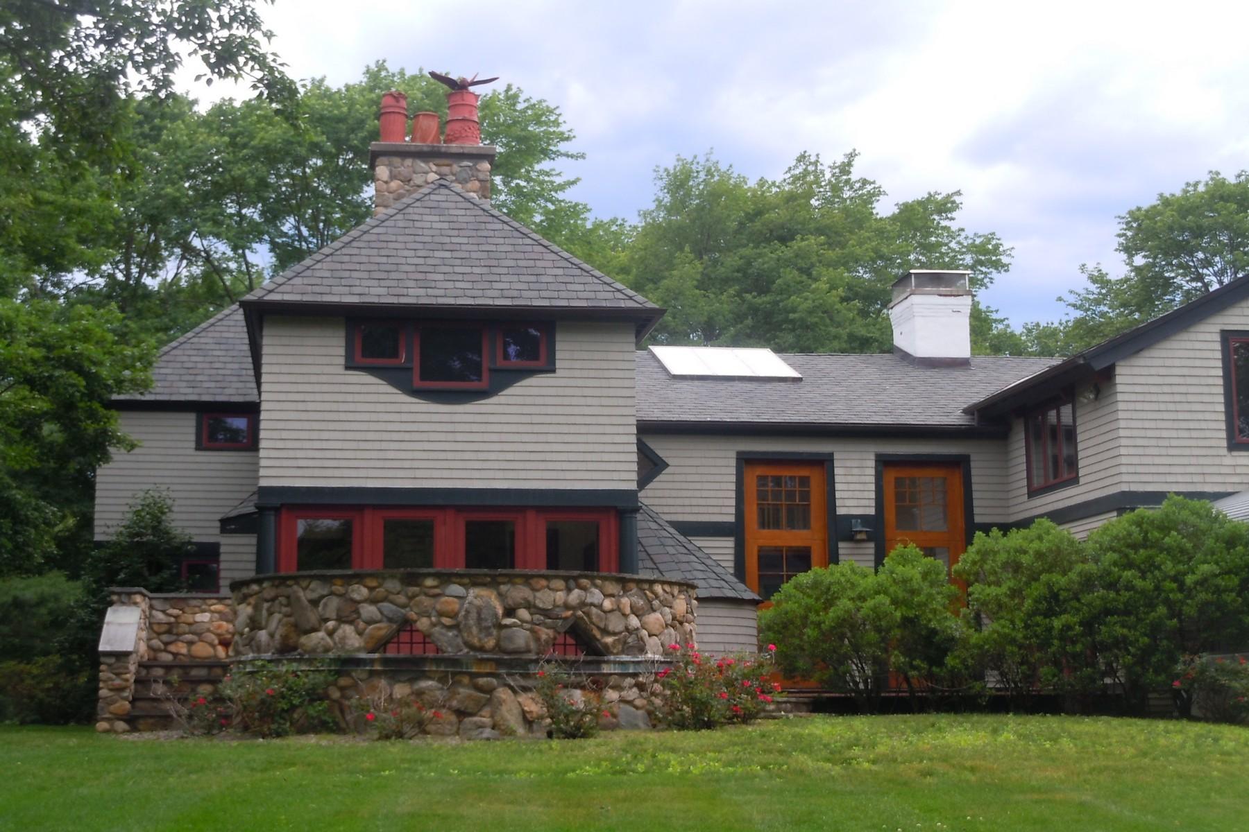 Eensgezinswoning voor Verkoop een t Exquisite Estate 240 Main Street Boxford, Massachusetts 01921 Verenigde Staten