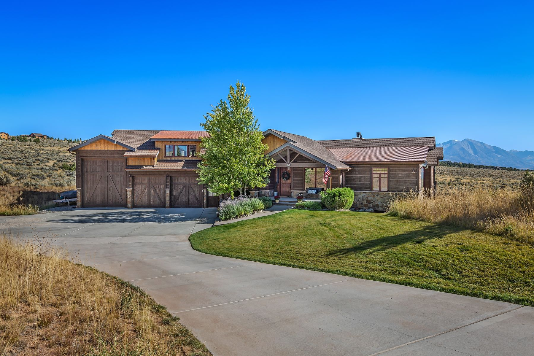 Single Family Homes for Active at Private Custom Home in Elk Springs 426 Aster Drive Glenwood Springs, Colorado 81601 United States