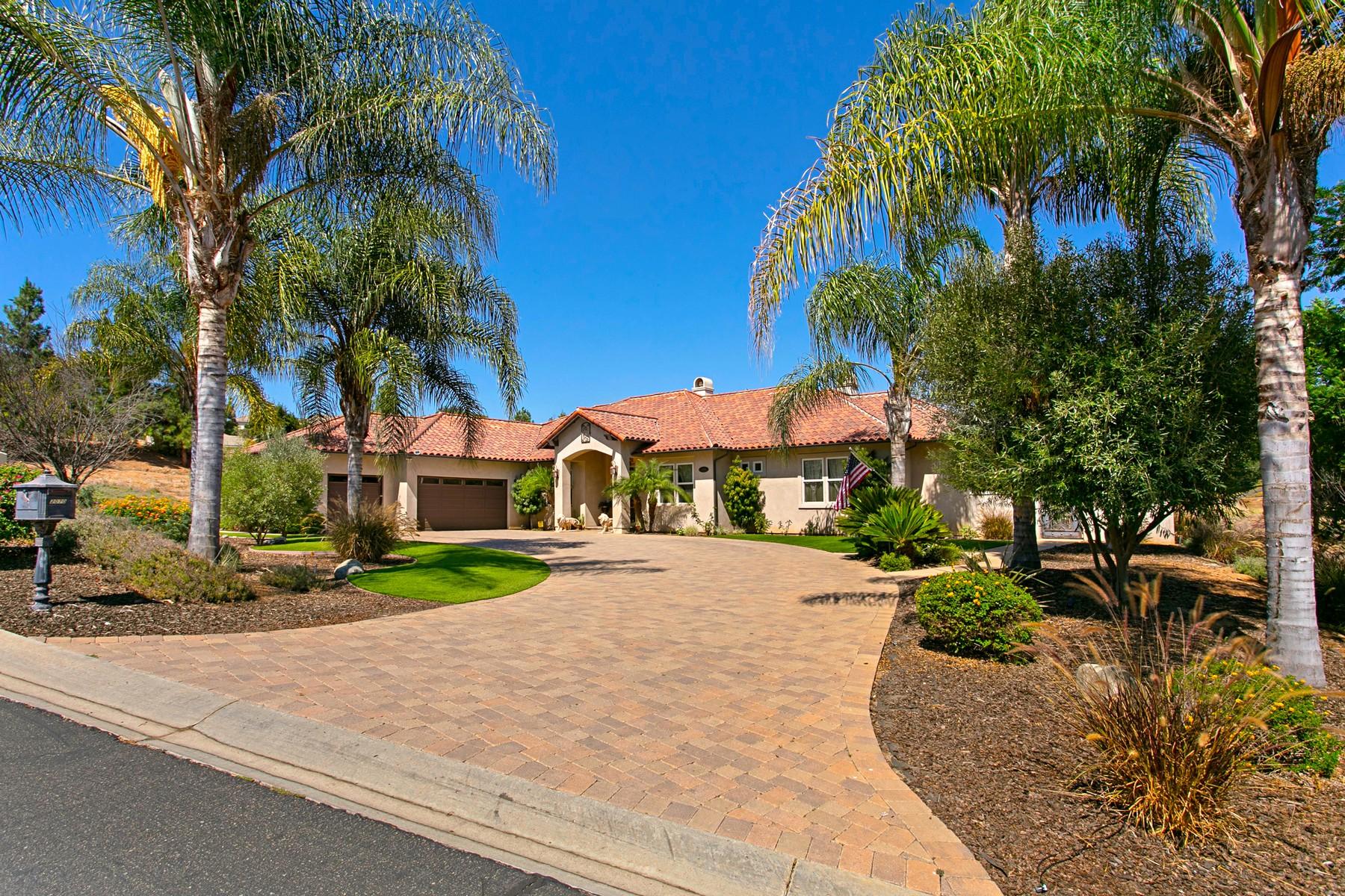 Single Family Homes para Venda às Beautiful Single Story Home! 2070 Zlatibor Ranch Rd, Escondido, Califórnia 92025 Estados Unidos