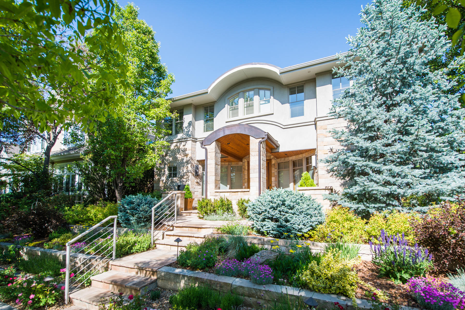 Single Family Homes for Sale at 520 Madison Street Denver, Colorado 80206 United States