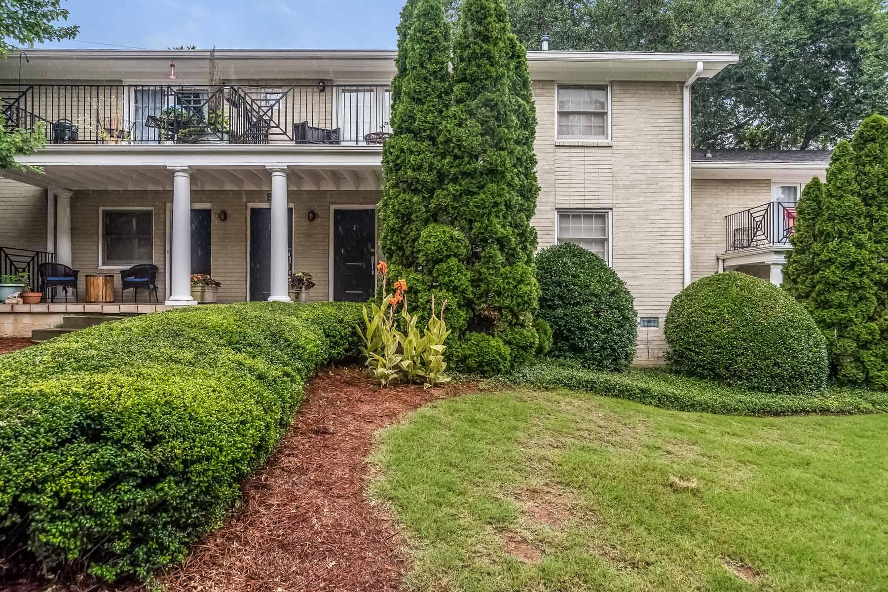 共管物業 為 出售 在 Charming Two Bedroom Virginia Highland Condo 866 Briarcliff Road NE Unit B2 Virginia Highland, Atlanta, 喬治亞州, 30306 美國