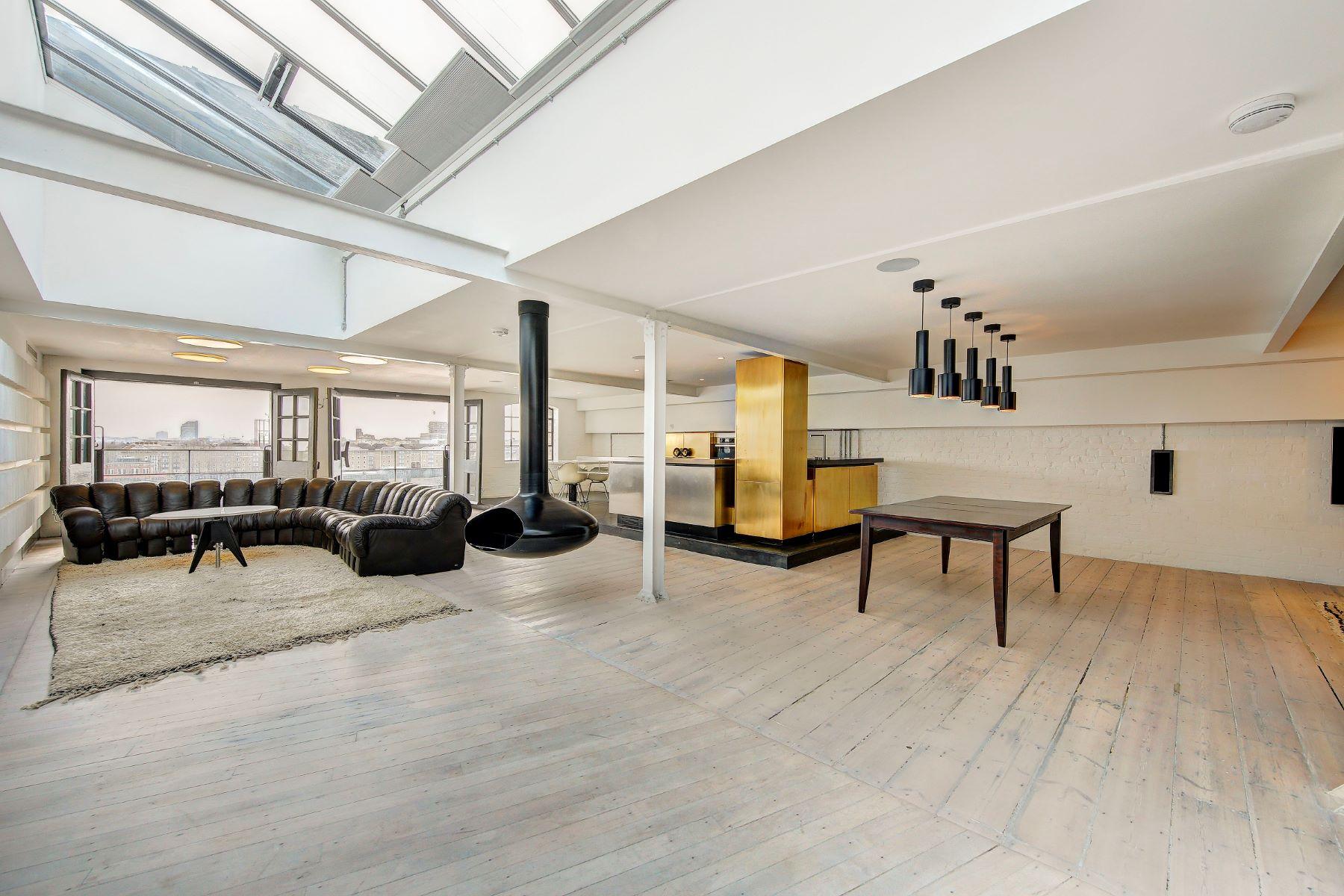 Apartamento por un Alquiler en Metropolitan Wharf, Wapping, E1W London, Inglaterra, Reino Unido